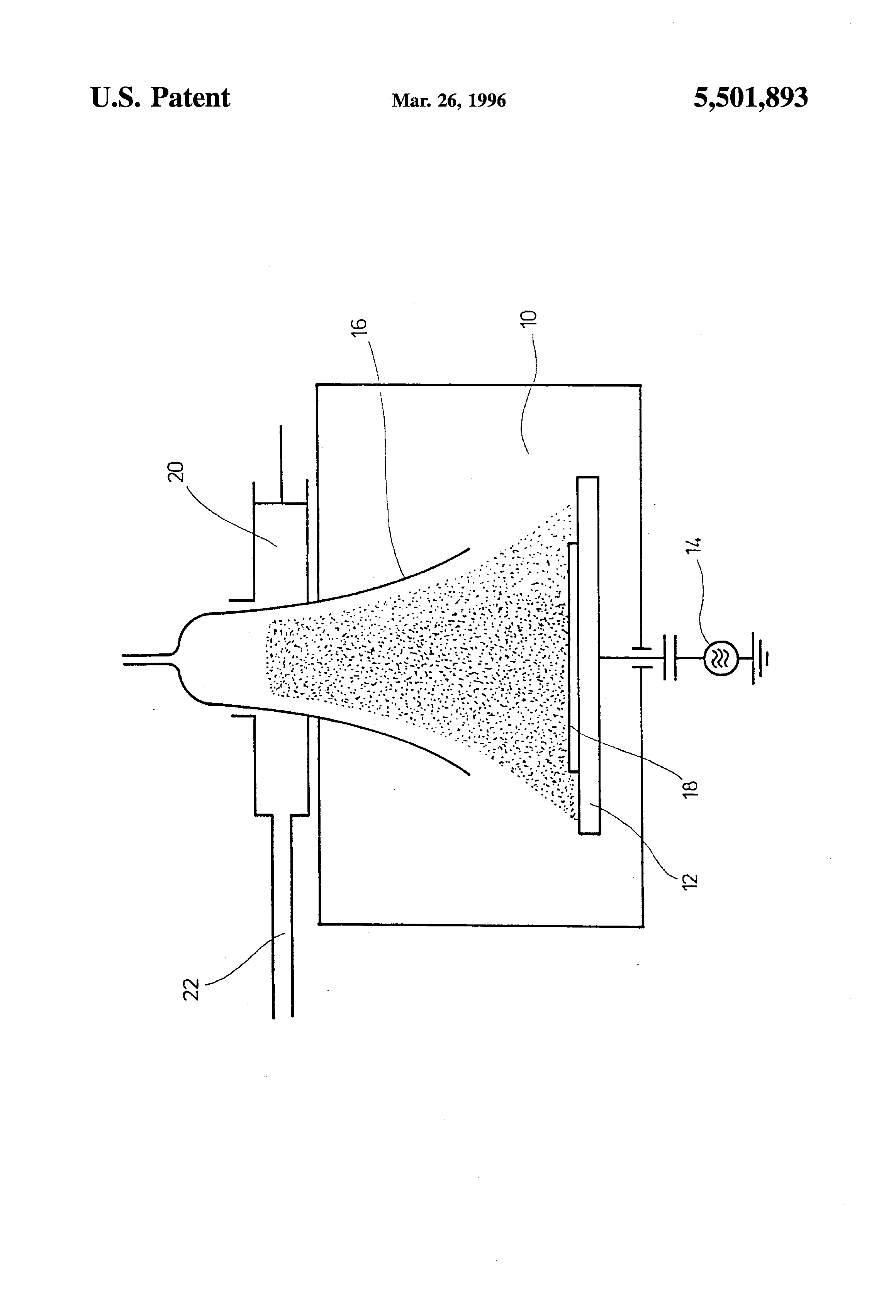US5501893 1 patent us5501893 method of anisotropically etching silicon Low-Density Plasma Ion at webbmarketing.co