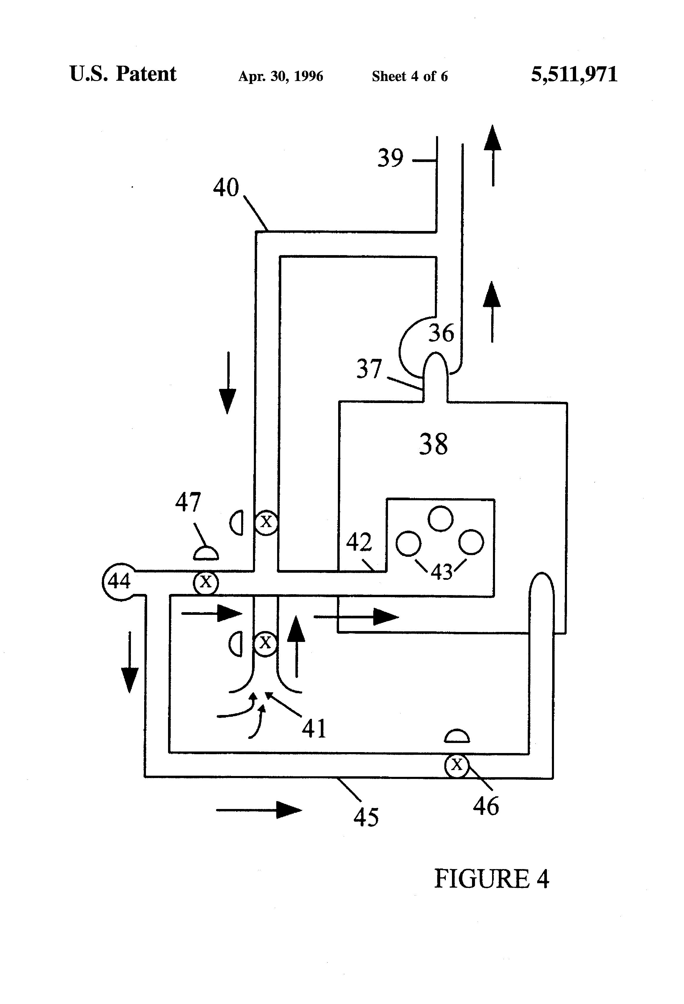 patent us5511971 low nox burner process for boilers google patents