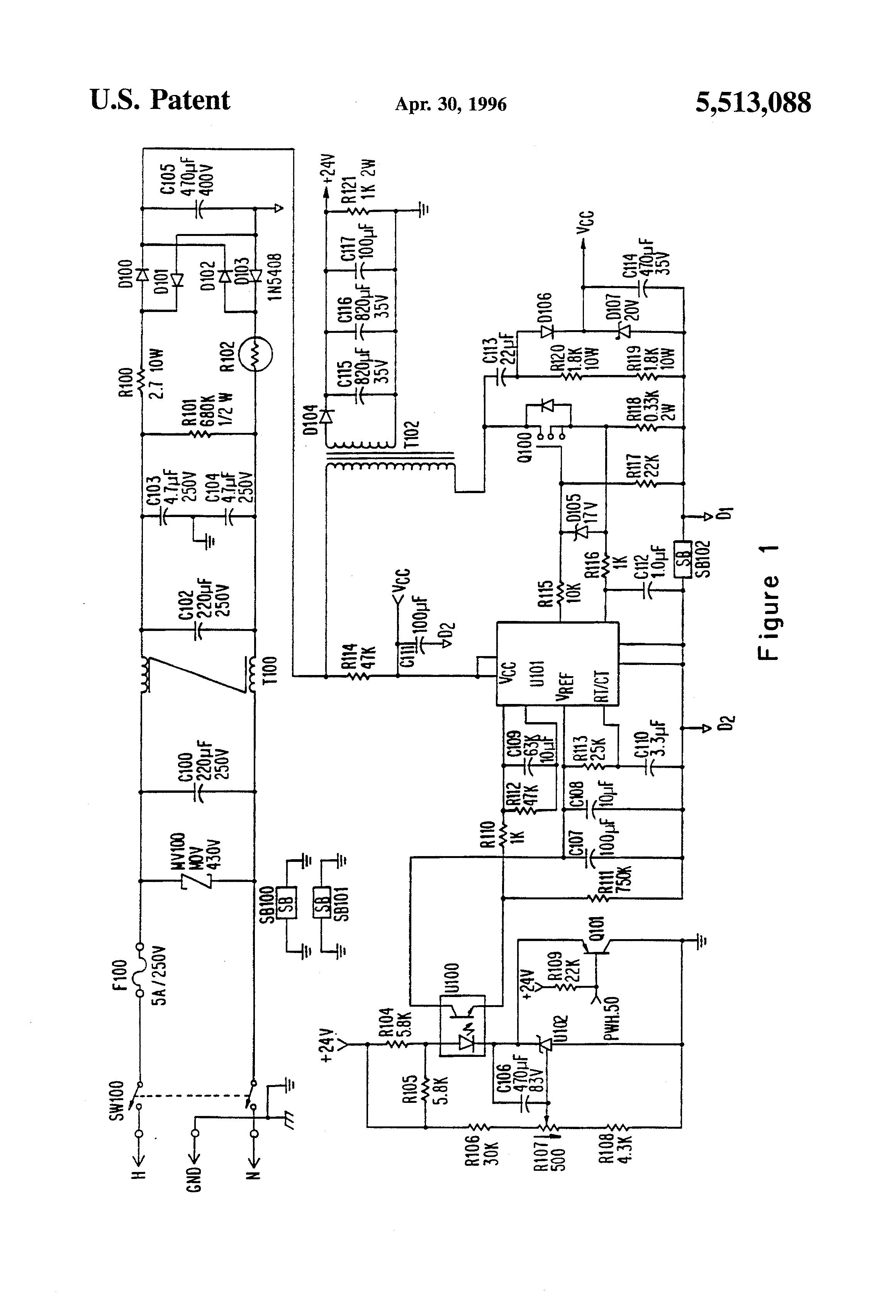 patent us5513088