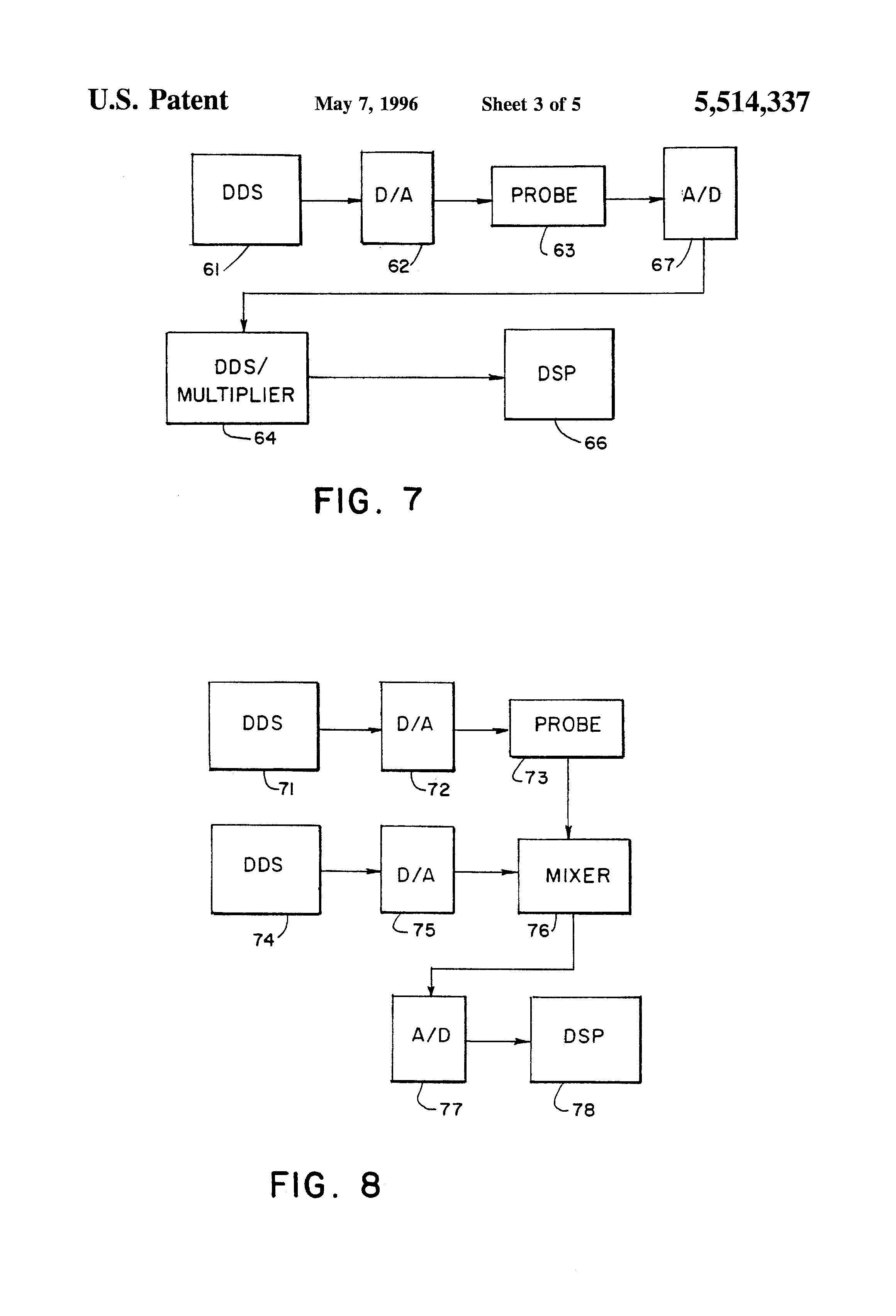 Patent Us5514337 Chemical Sensor Using Eddy Current Or Resonant Measurement By Change In Dielectric Constant Resonance Circuit Drawing
