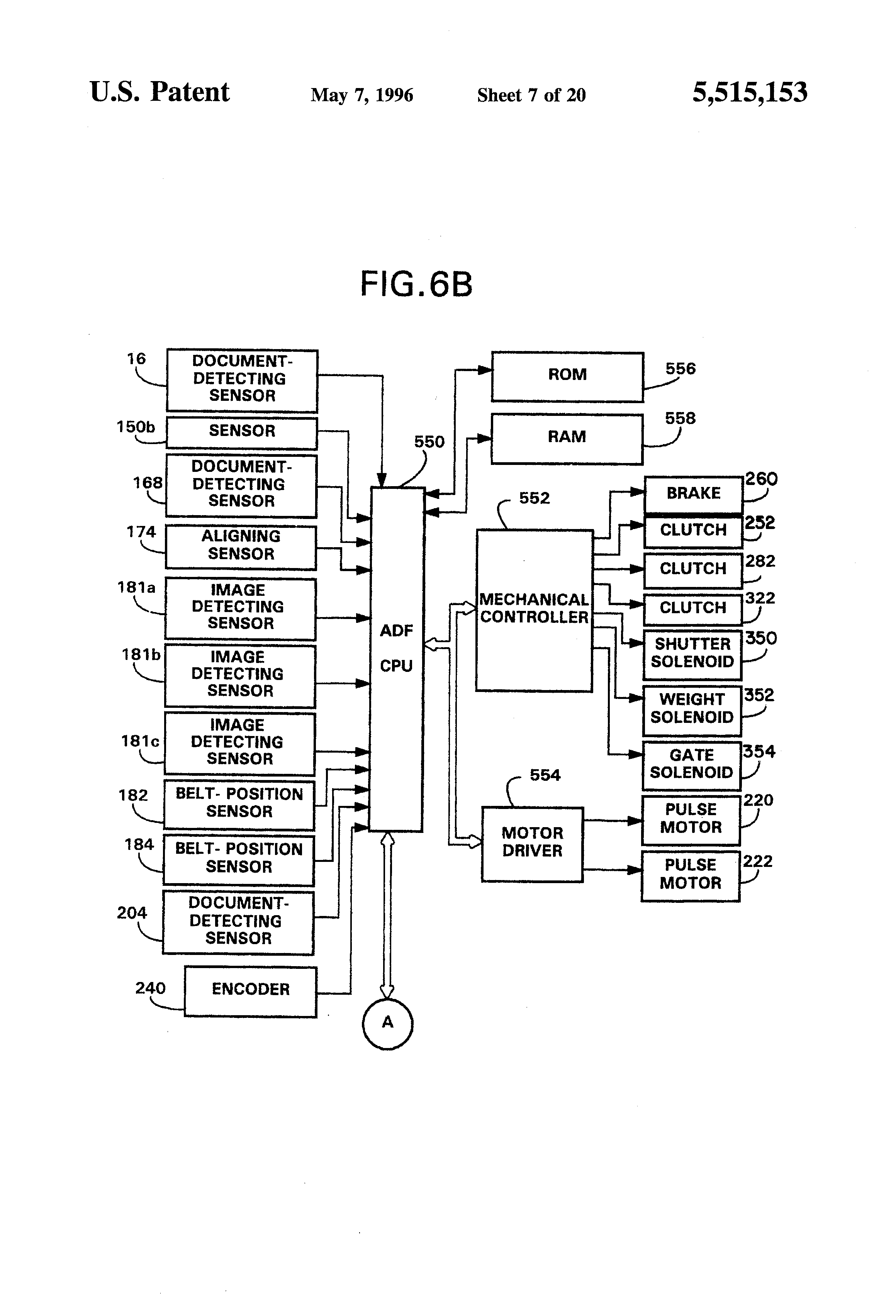 Patent Us5515153 Image Forming Apparatus With An Automatic St51 Solenoid Starter Switch Wiring Diagram Drawing