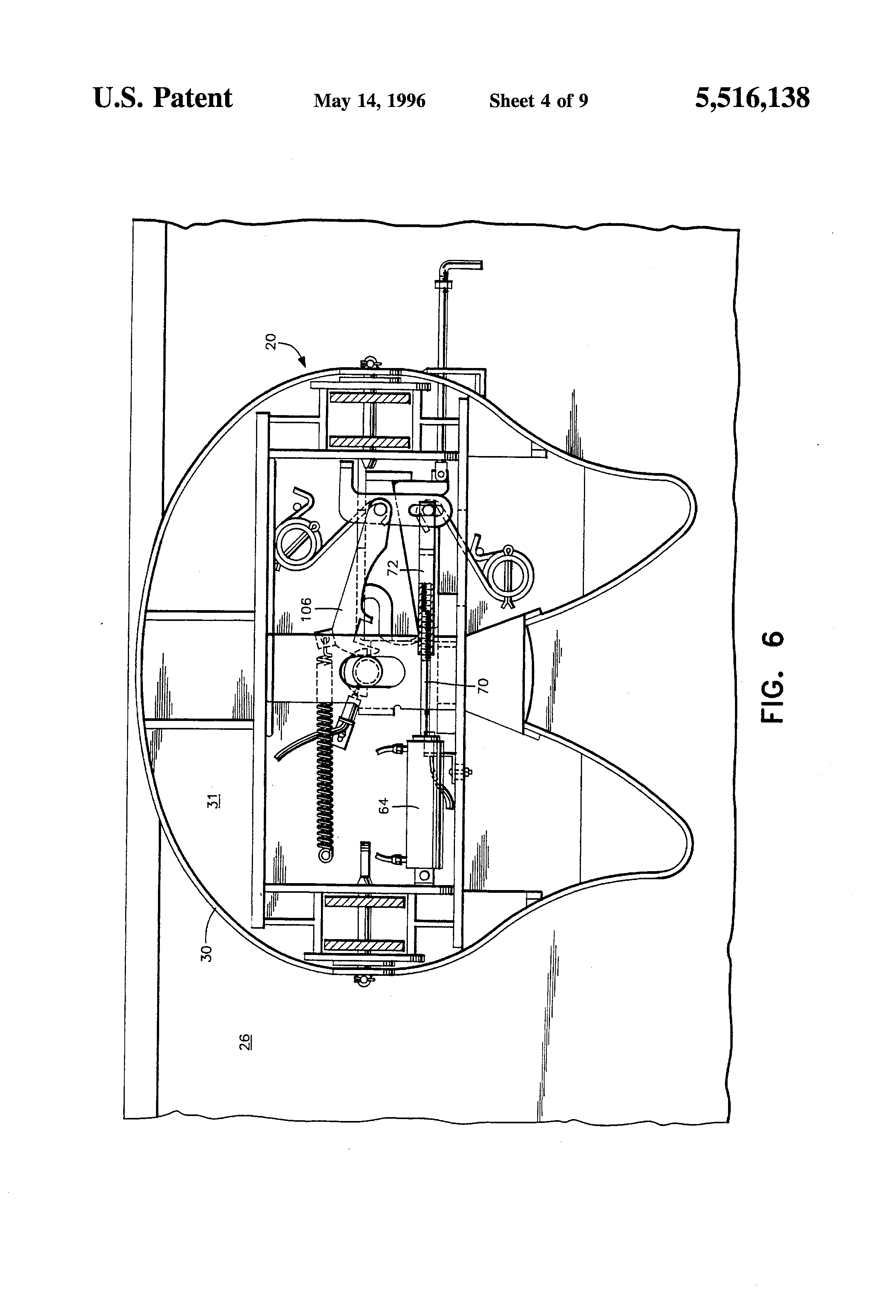Mechanism Wheel Lever : Patent us lock and release mechanism for fifth