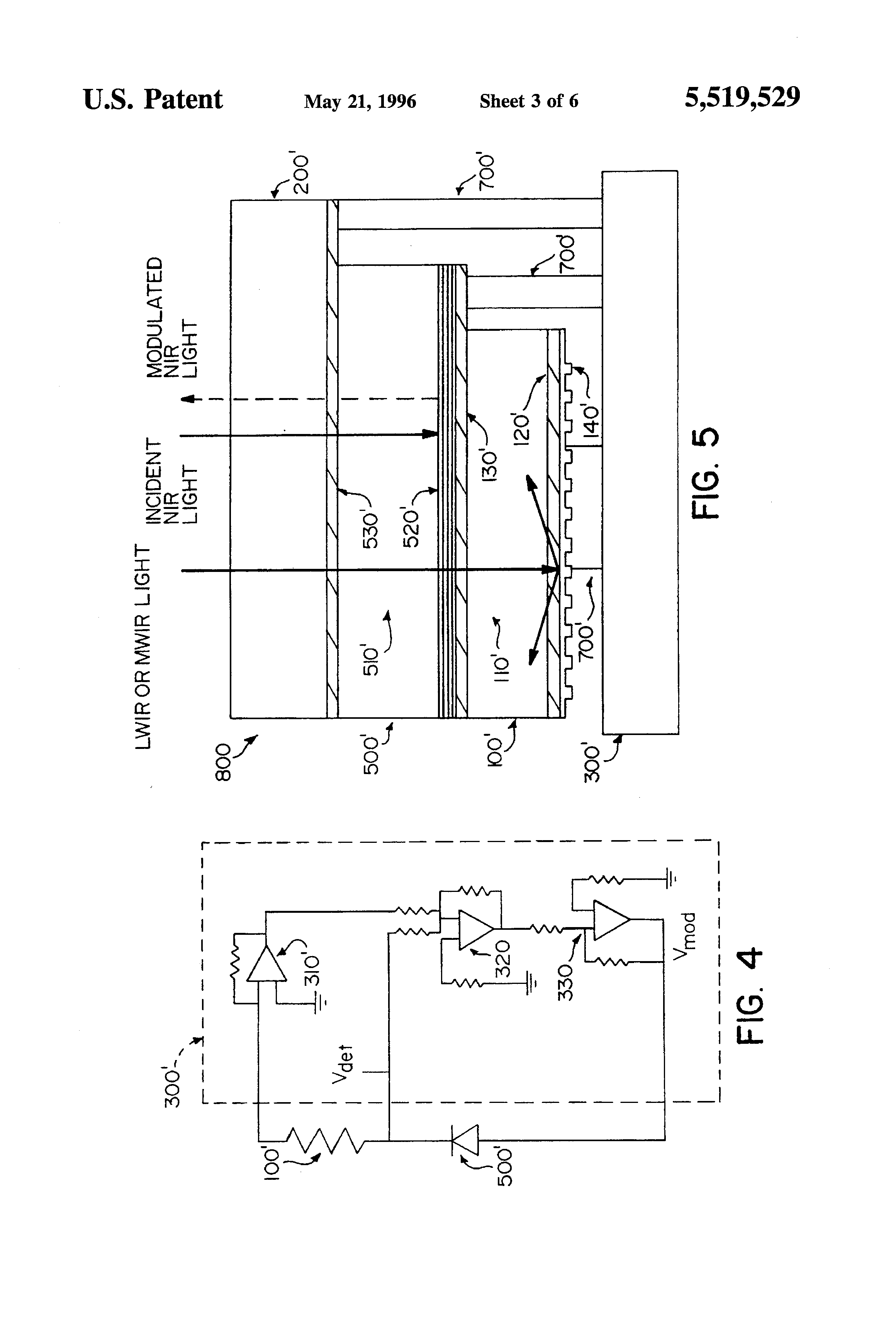 patent us5519529 - infrared image converter