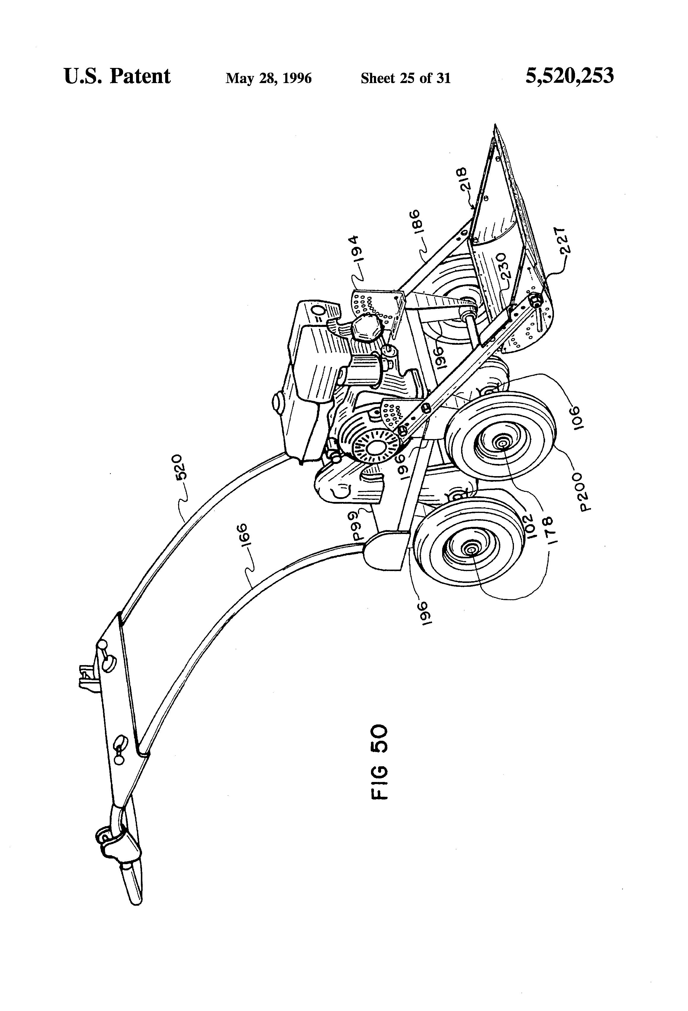 rotary tiller parts diagram