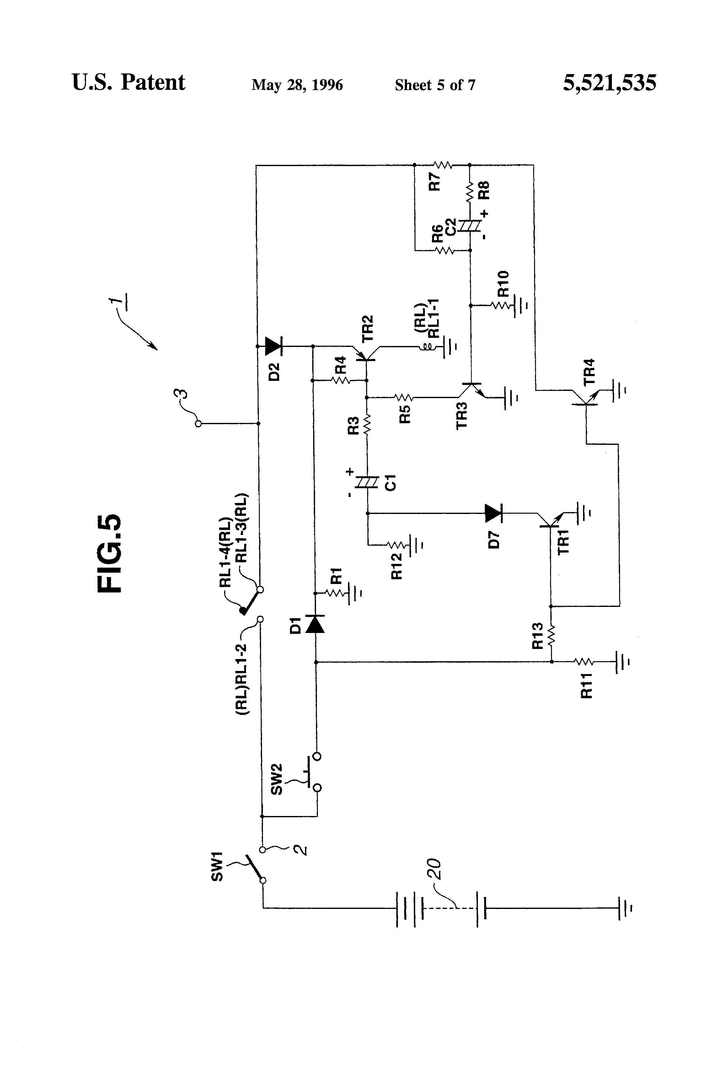 patent us5521535
