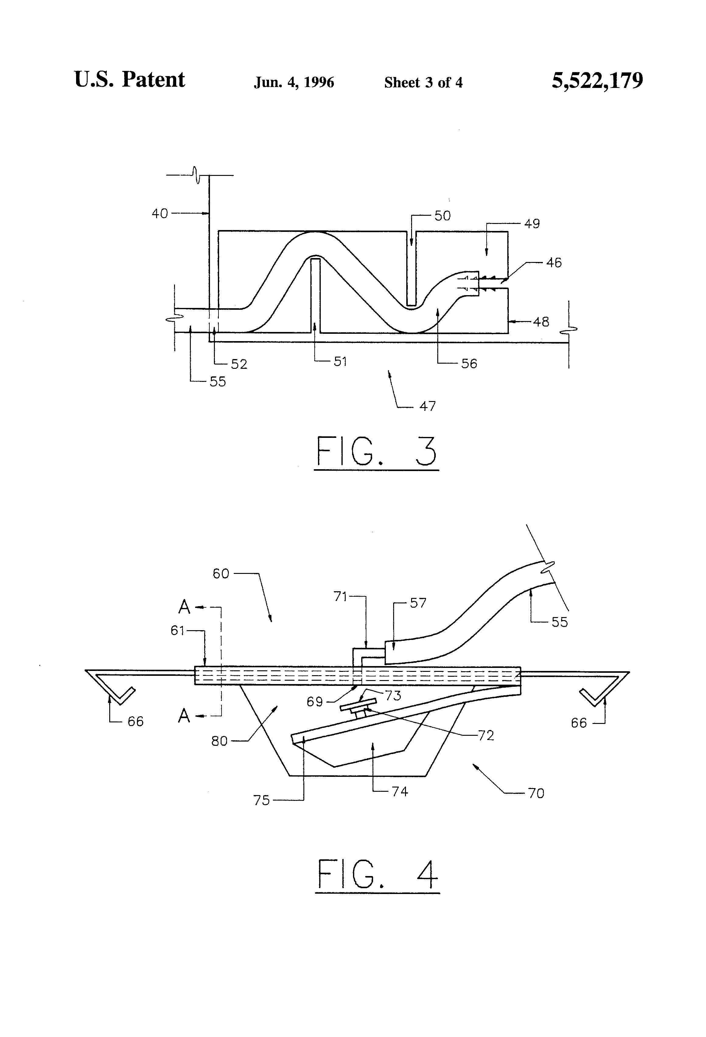 patent us5522179