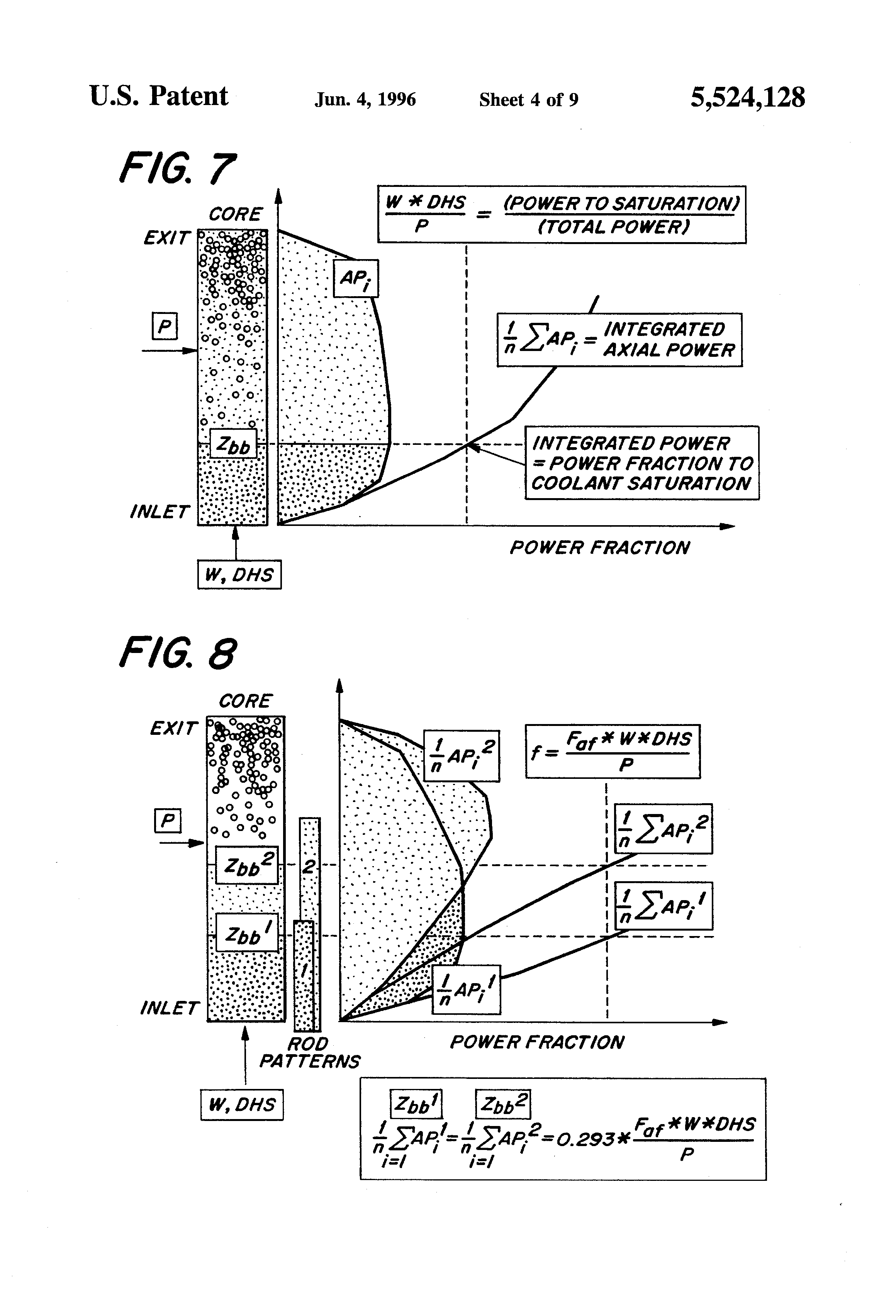 Patent Us5524128 Boiling Water Reactor Stability Control Google Power Plant Diagram Drawing