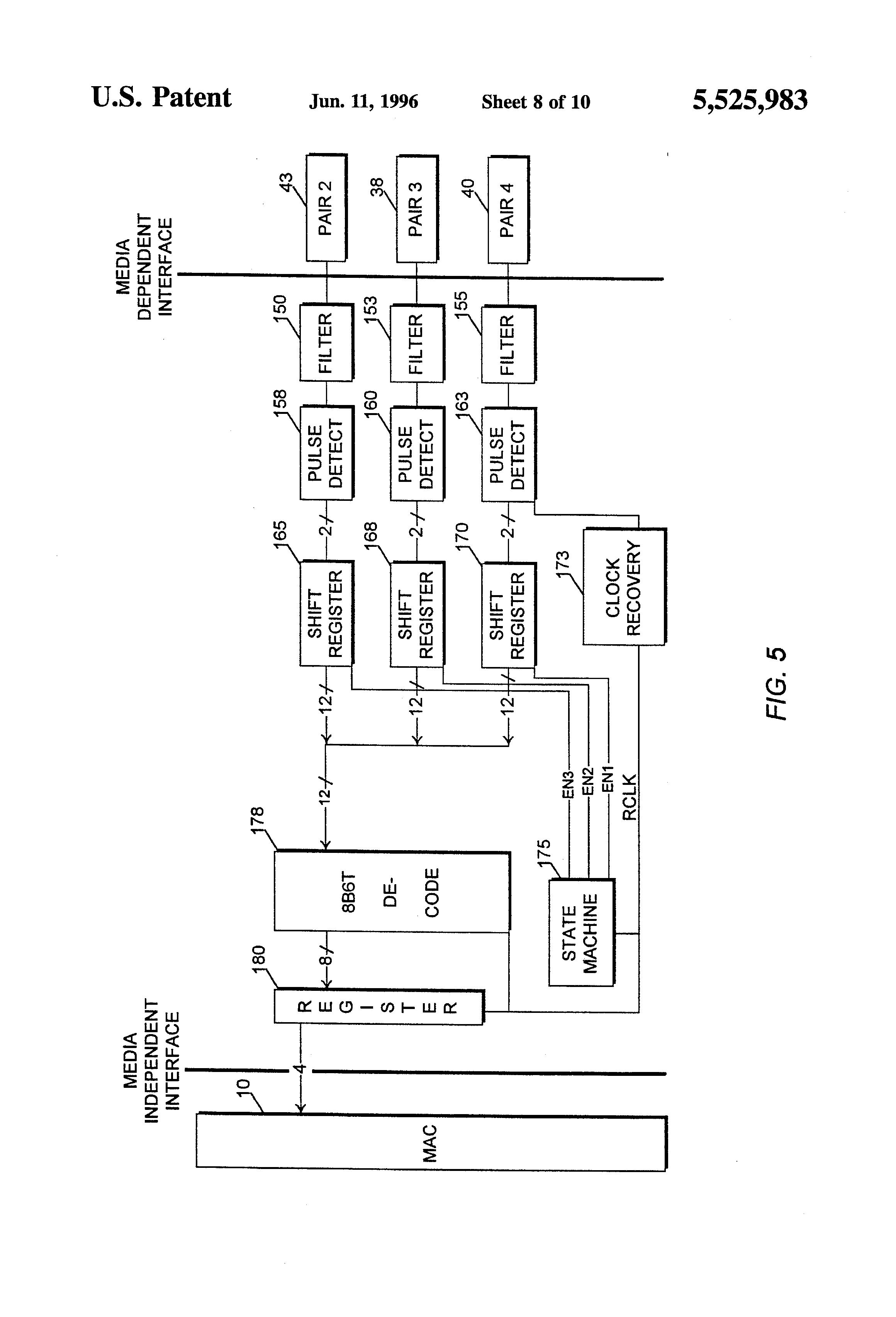 patent us5525983