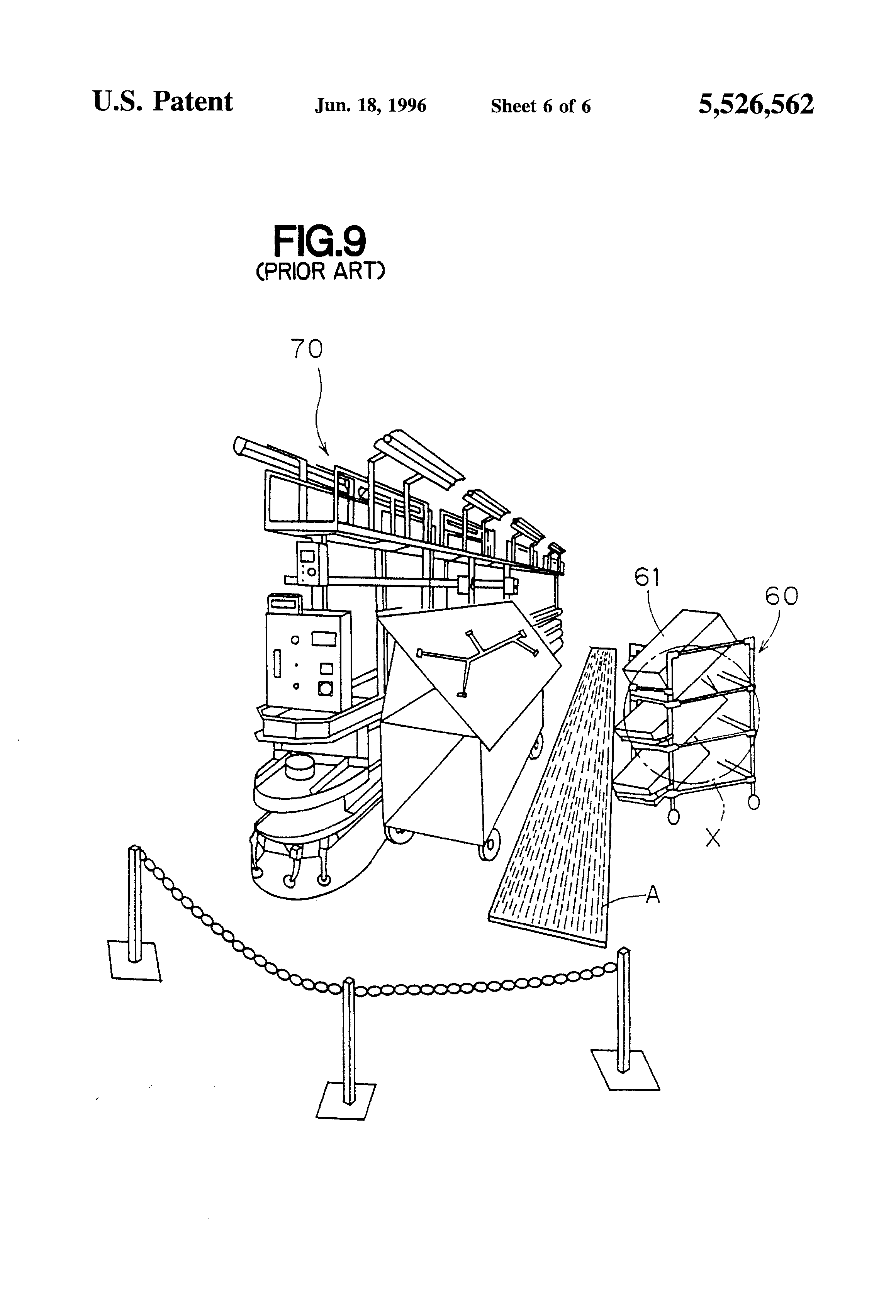 patent us5526562 - wiring harness assembly line