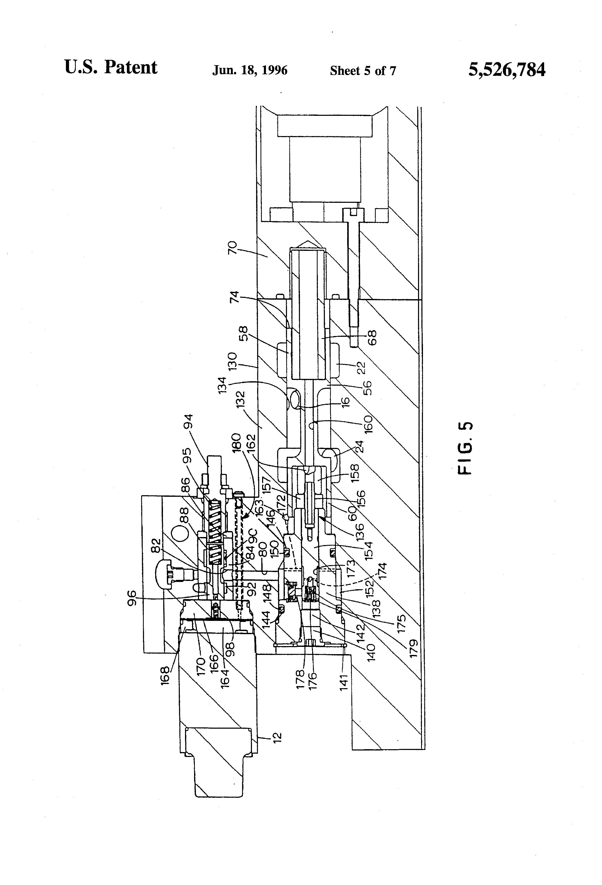Patent US5526784 Simultaneous exhaust valve opening braking – Jacobs Engine Brake Wiring Diagram