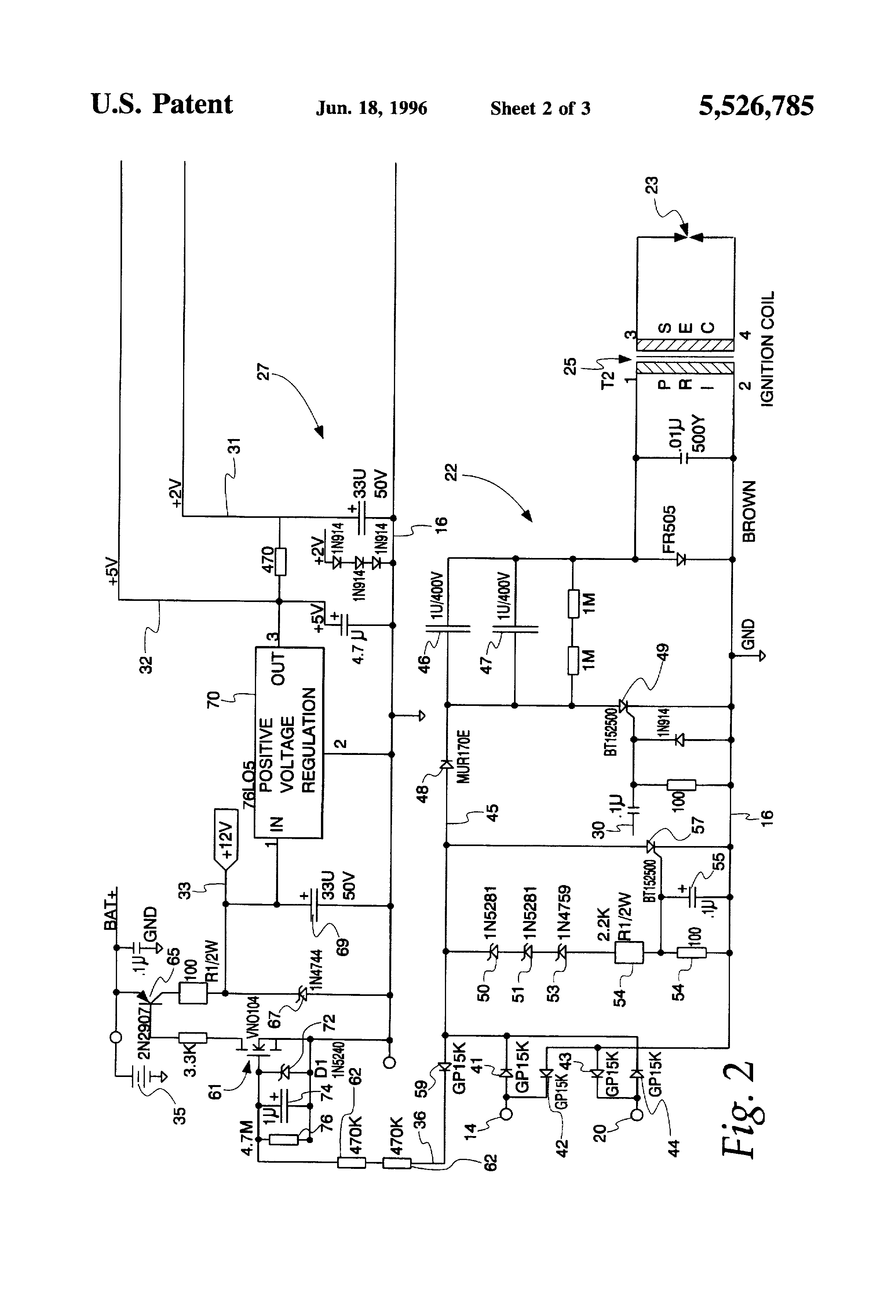 patent us5526785 - electronic ignition system