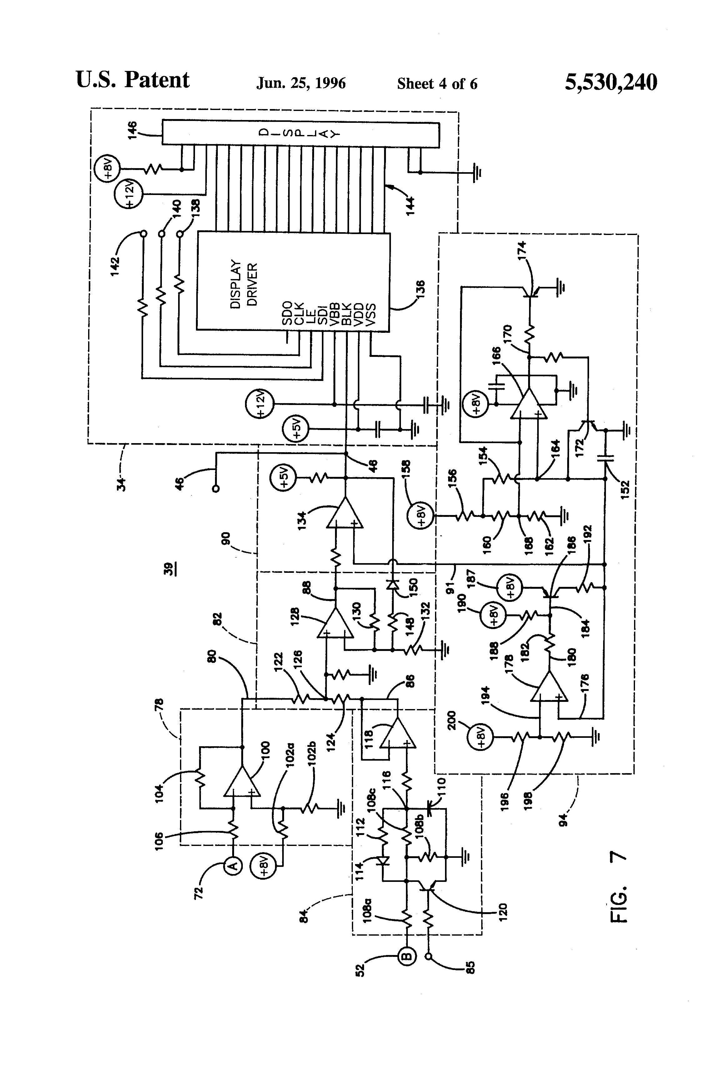 Velvac 2030 Wiring Diagram For A Mirror Diagrams Part Numbers Patent Us5530240 Display Automatic Rearview 92 Xj Power Camera