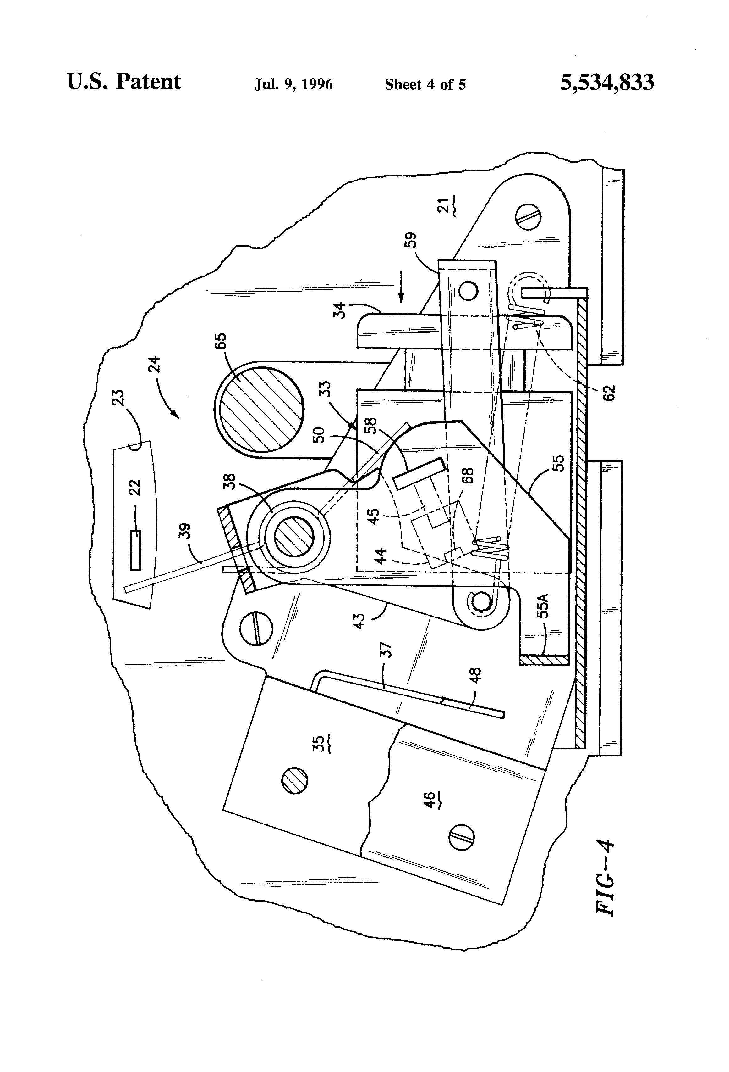 patent us5534833