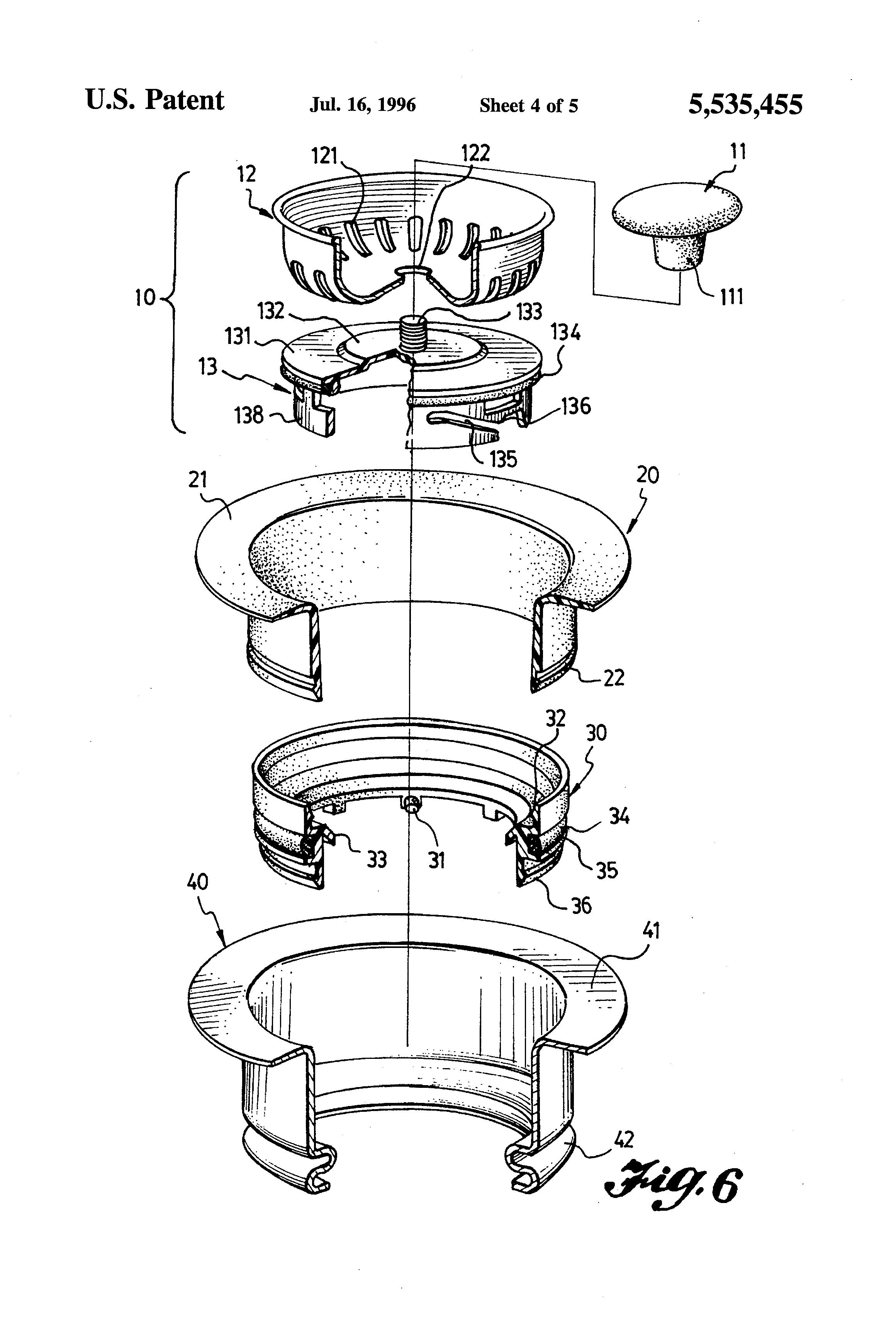 patent us5535455