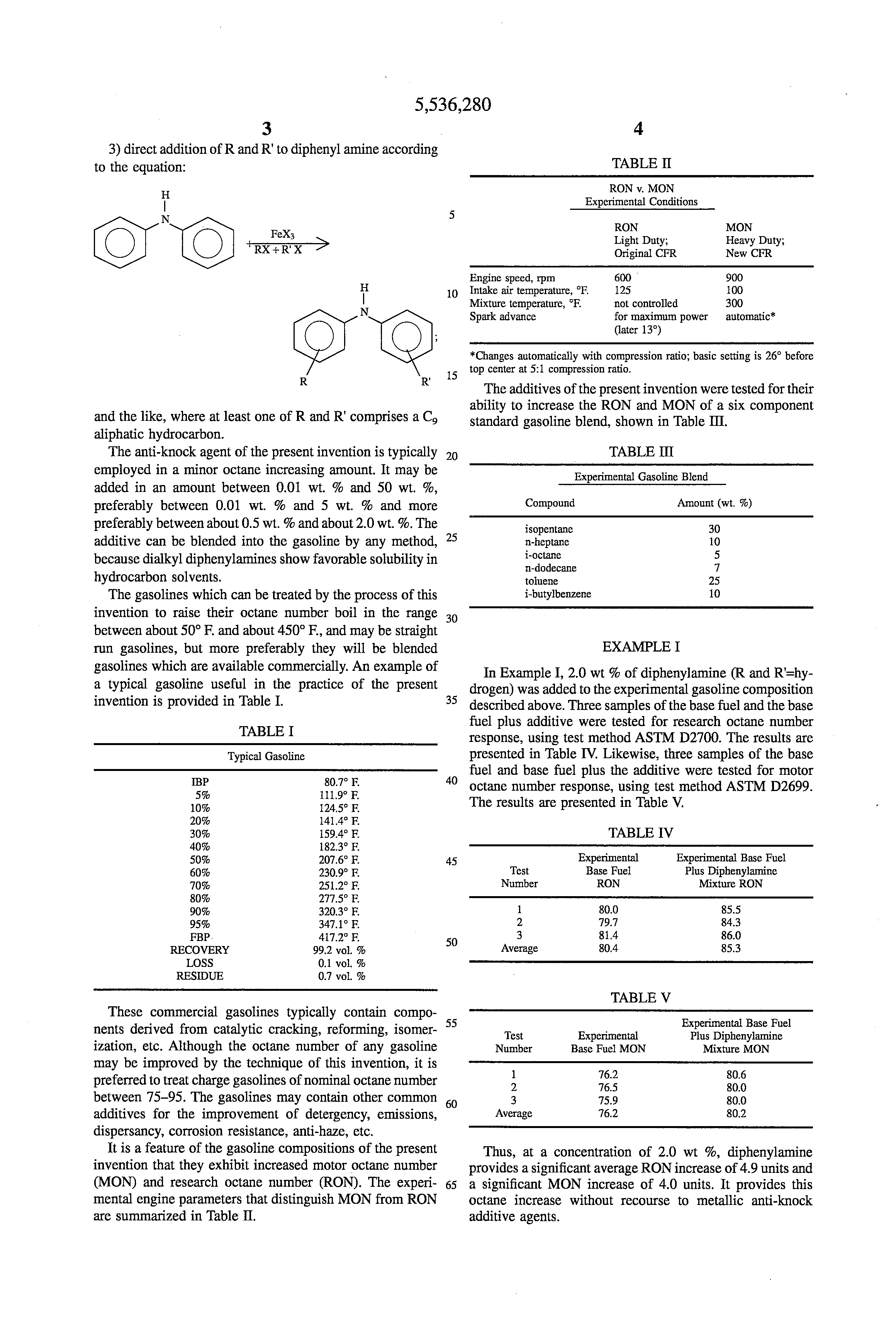 patent applications derosa thomas f