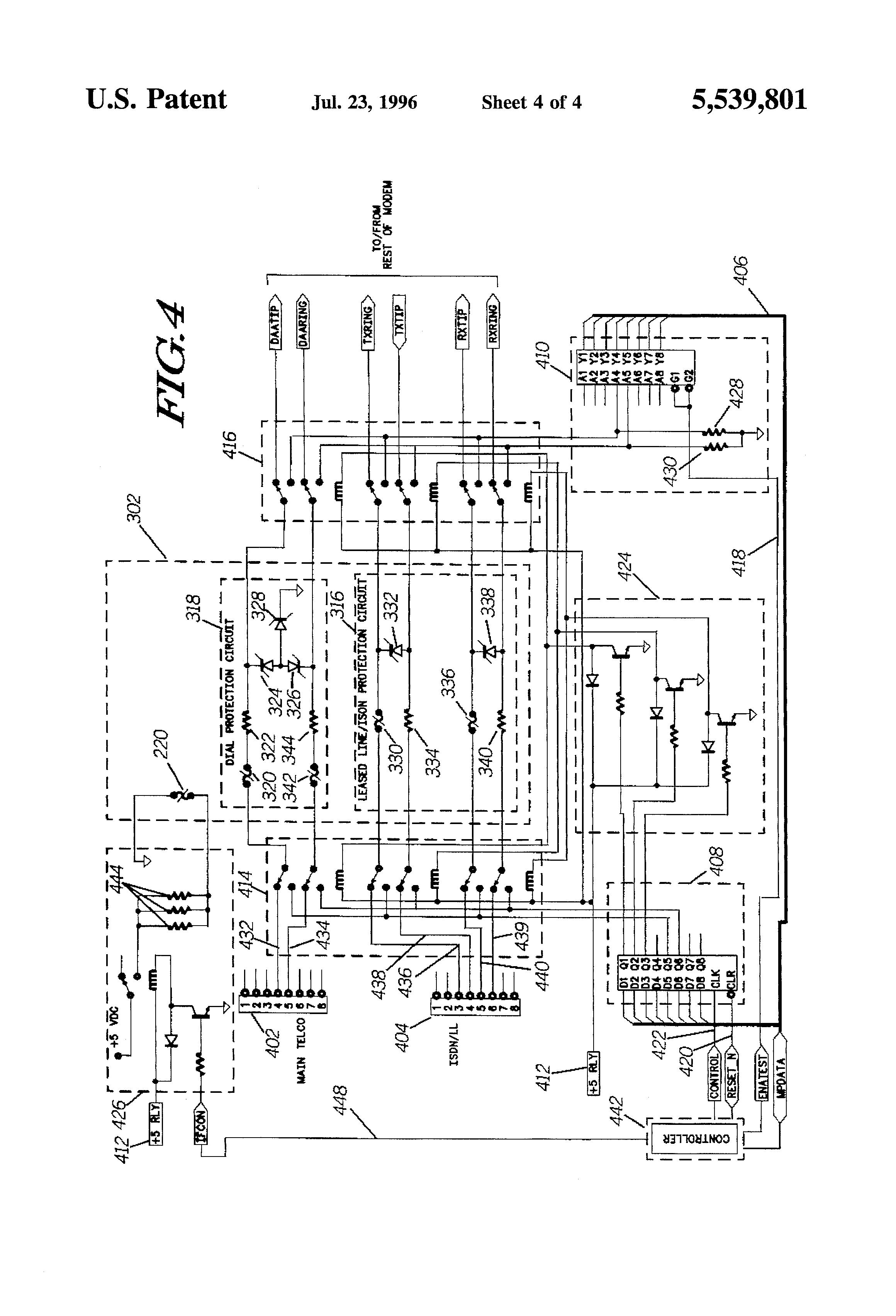 patent us5539801