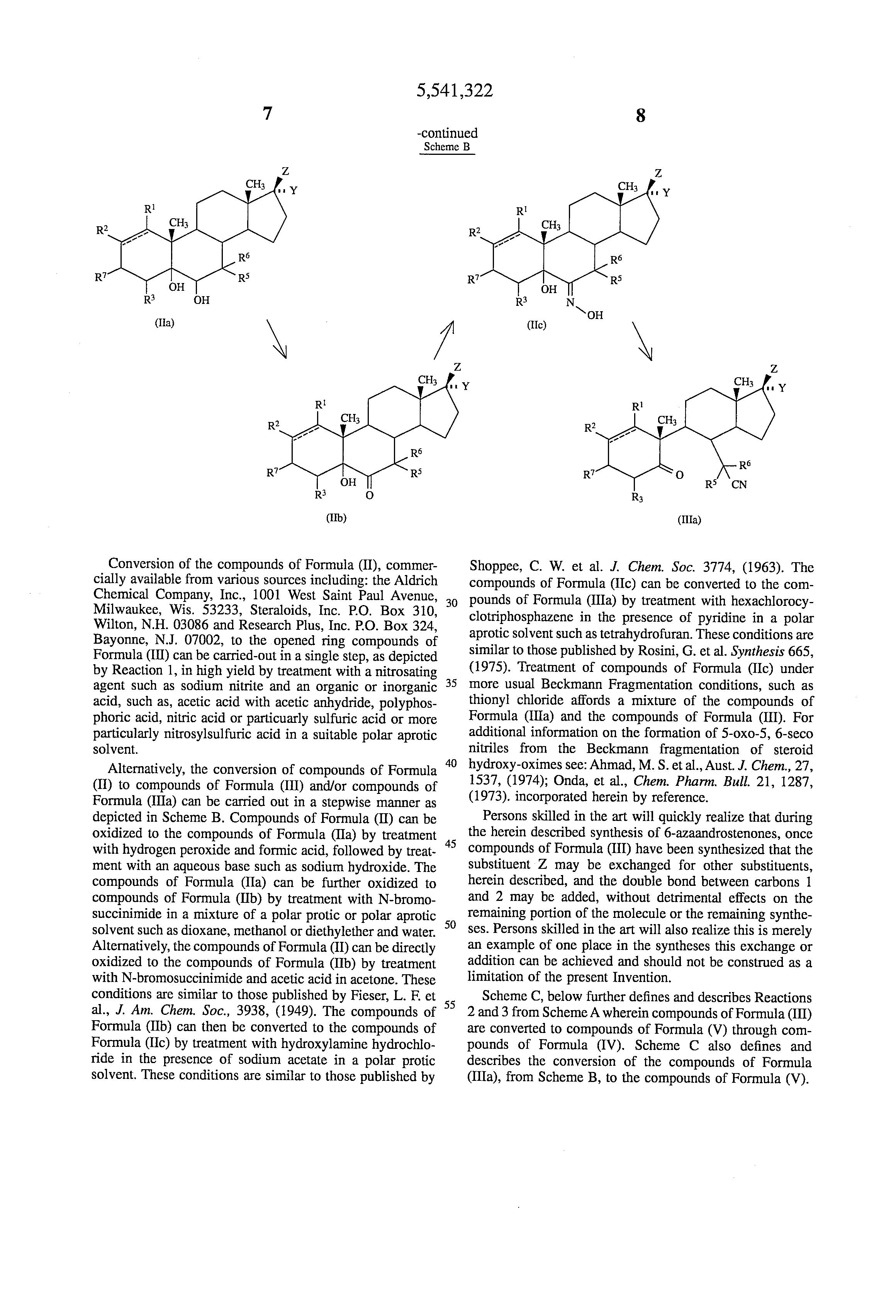 synthesizing testosterone