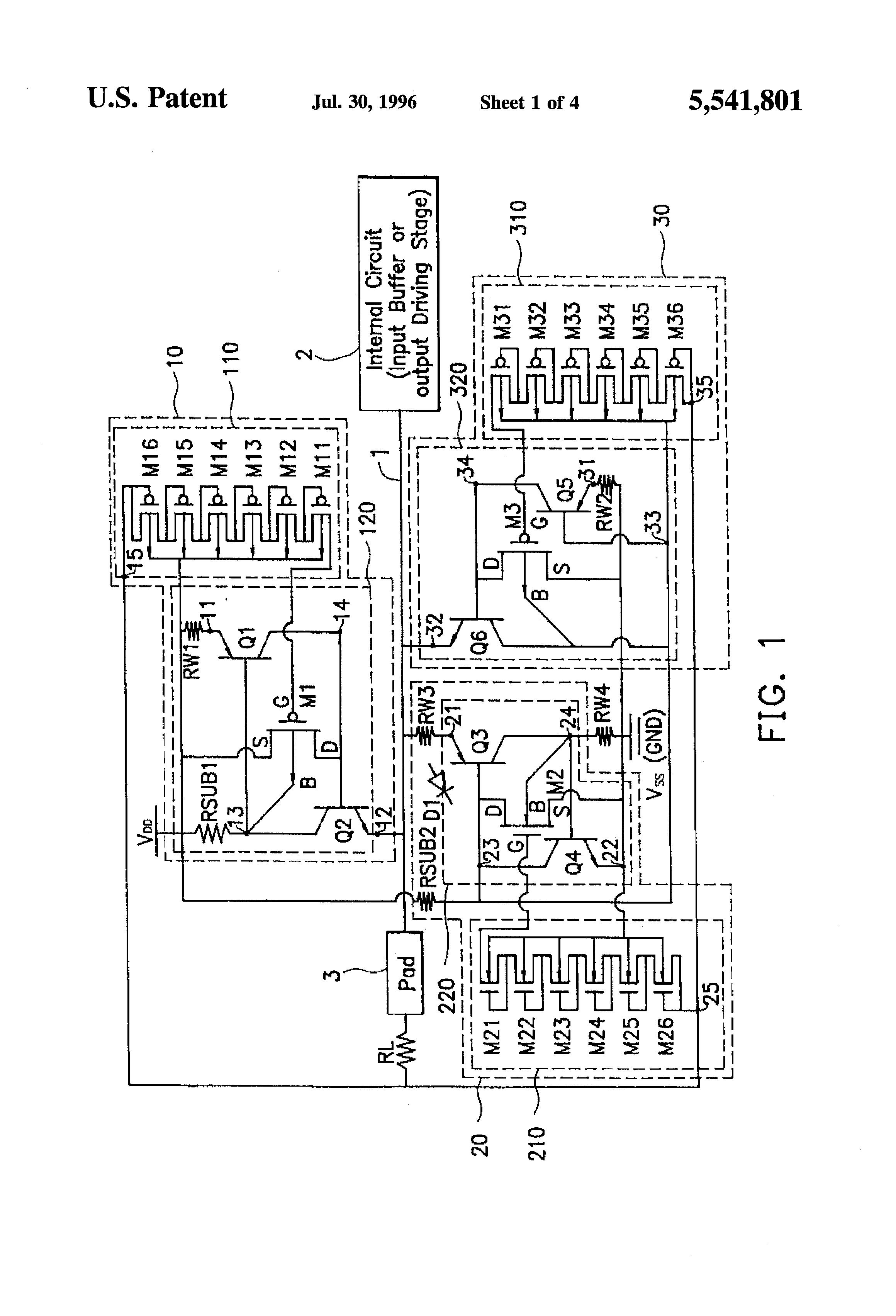 patent us5541801