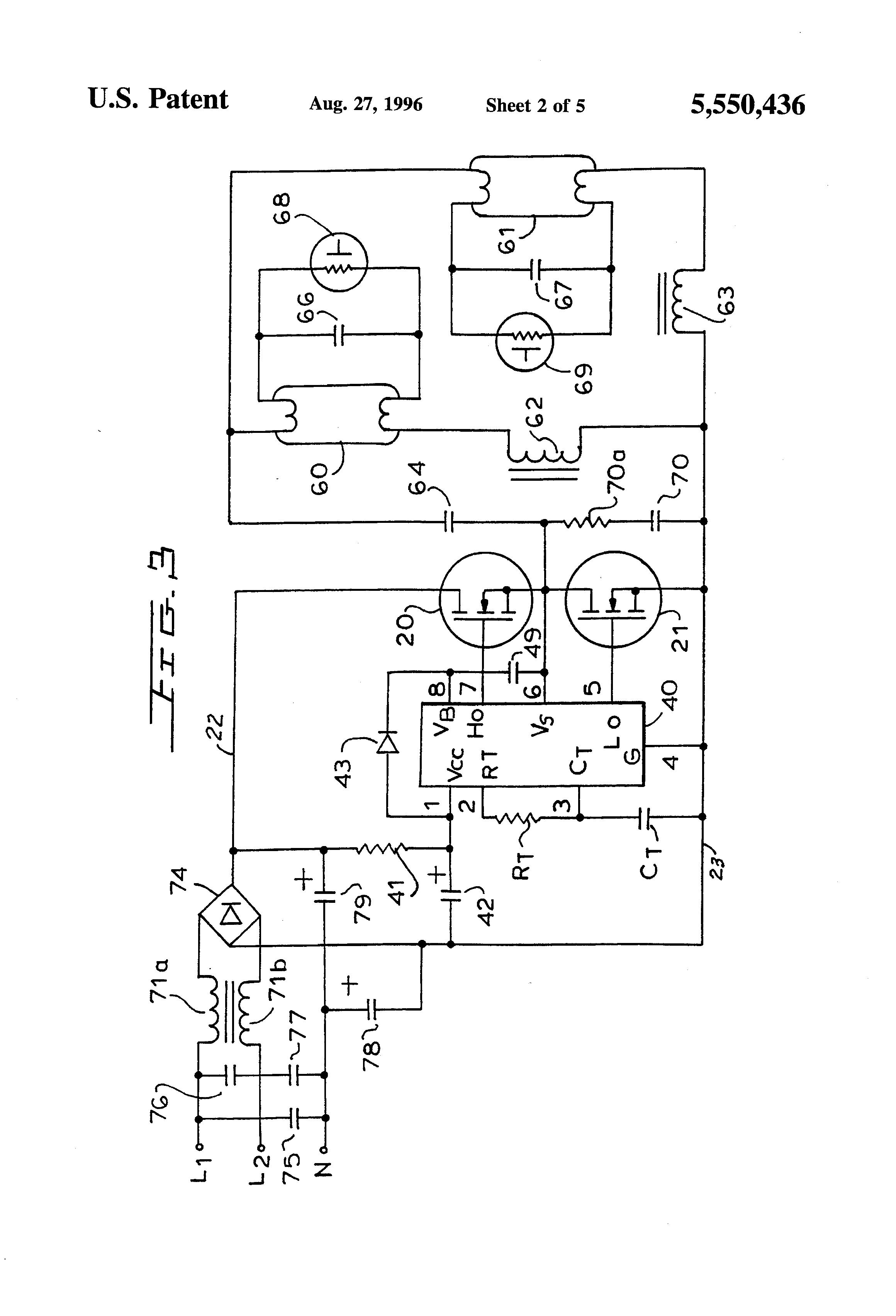 patent us5550436