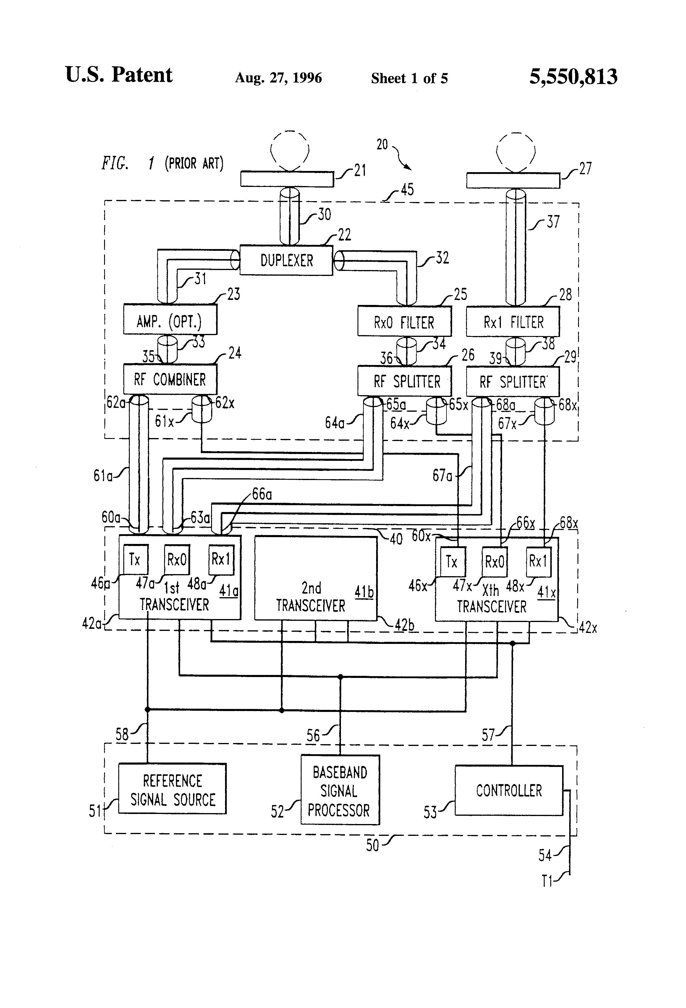 patent us5550813