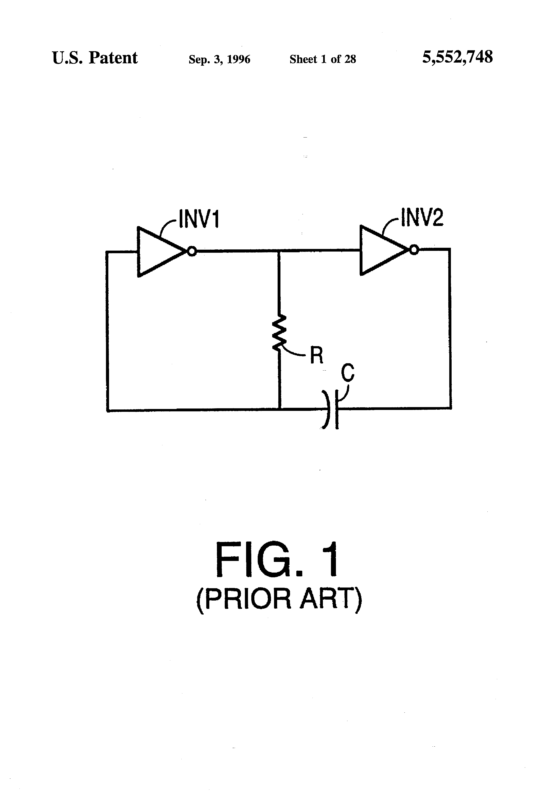 Patent Us5552748 Digitally Tuned Oscillator Including A Self Circuit Diagram Drawing