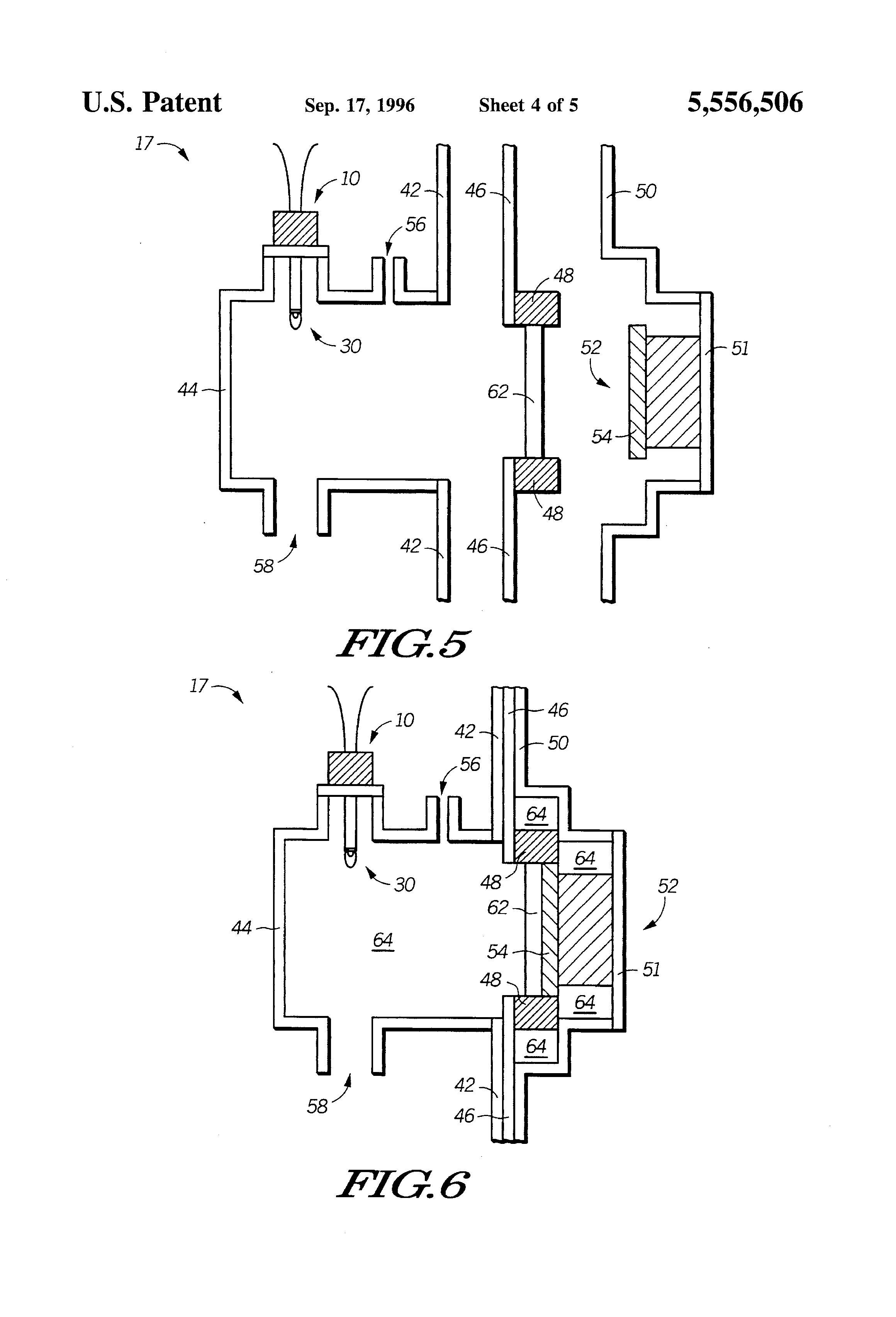 patent us5556506