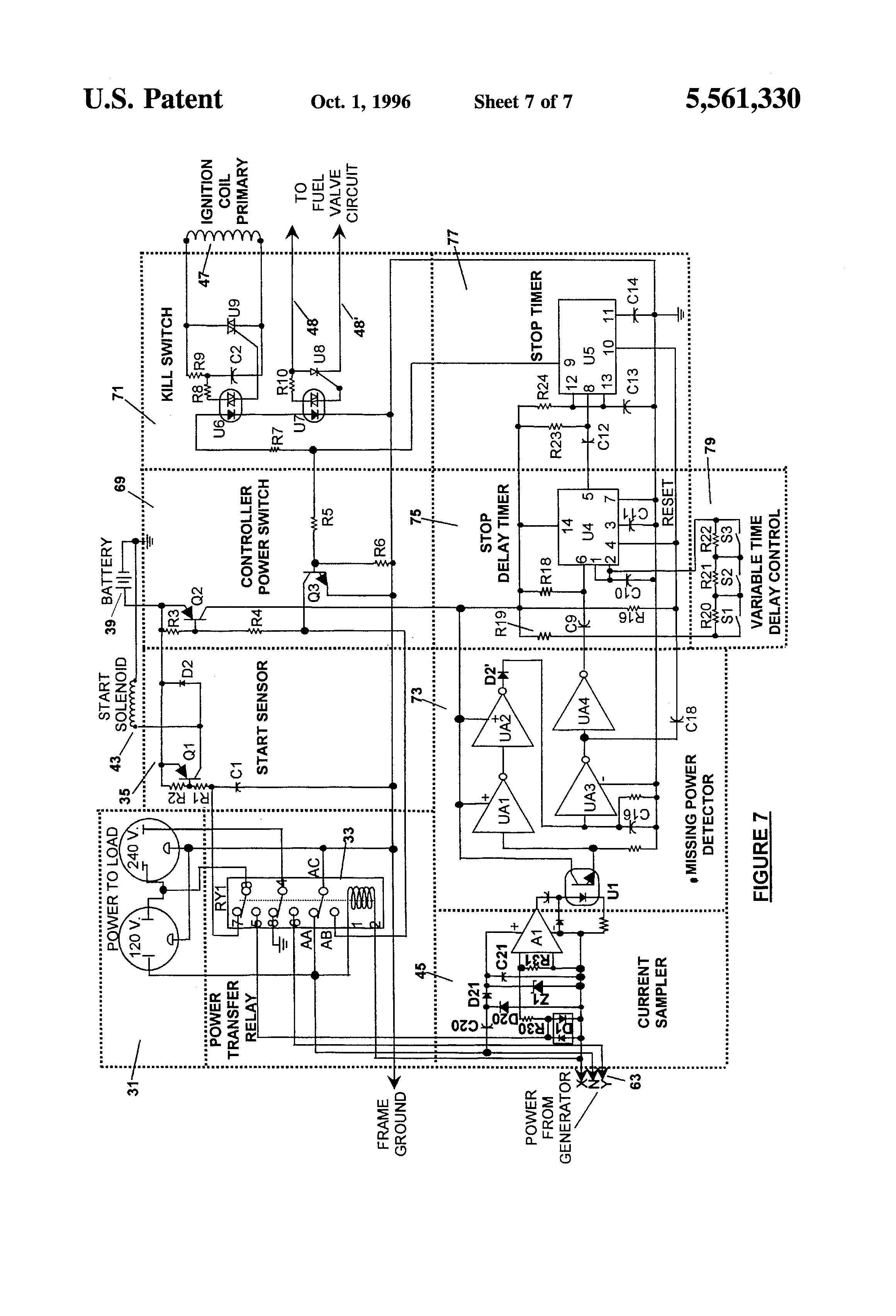 US5561330 7 wiring diagram panasonic cq5400u wiring automotive wiring Simple Electrical Wiring Diagrams at crackthecode.co
