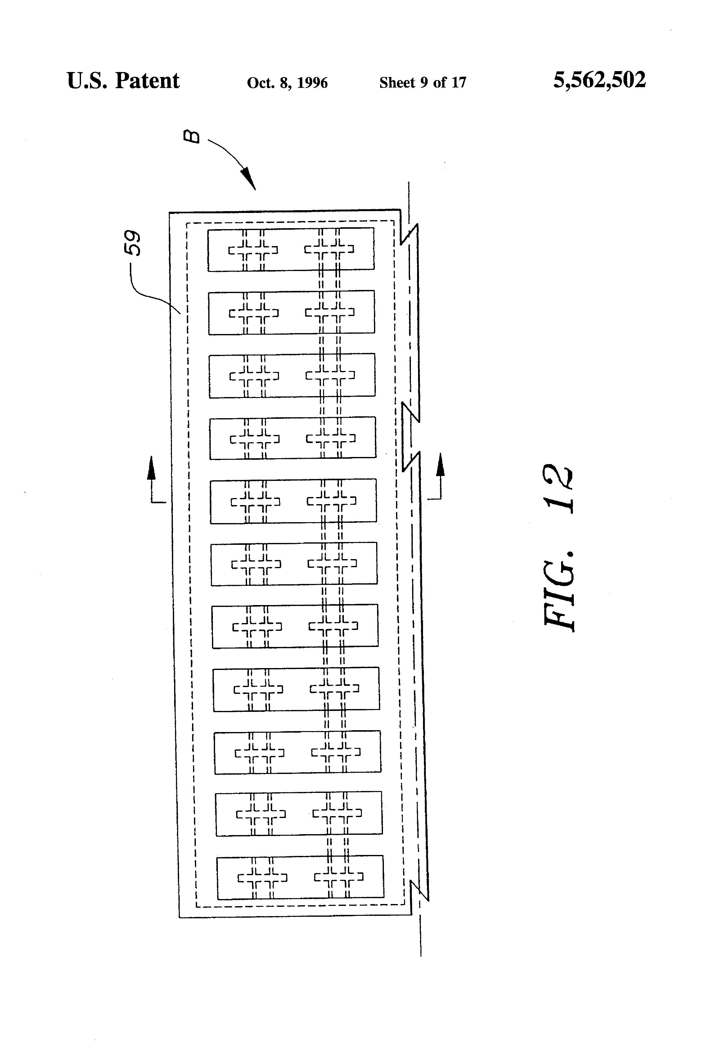 Patent Us5562502 Fuse Box Connector Assembly Google Patents Z3 1 9 Drawing