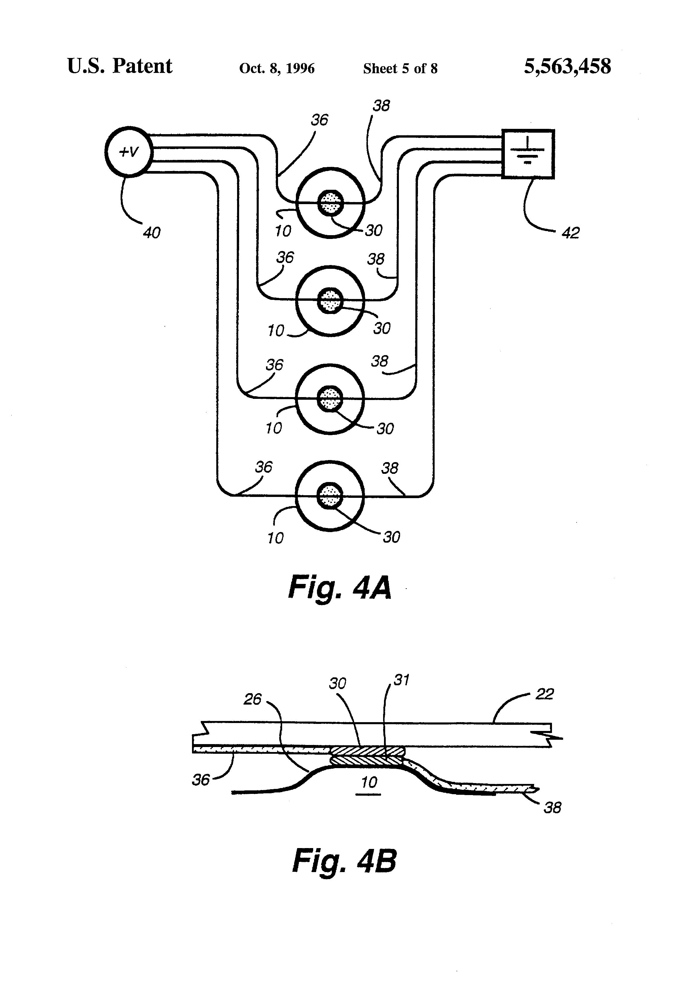 patent us5563458
