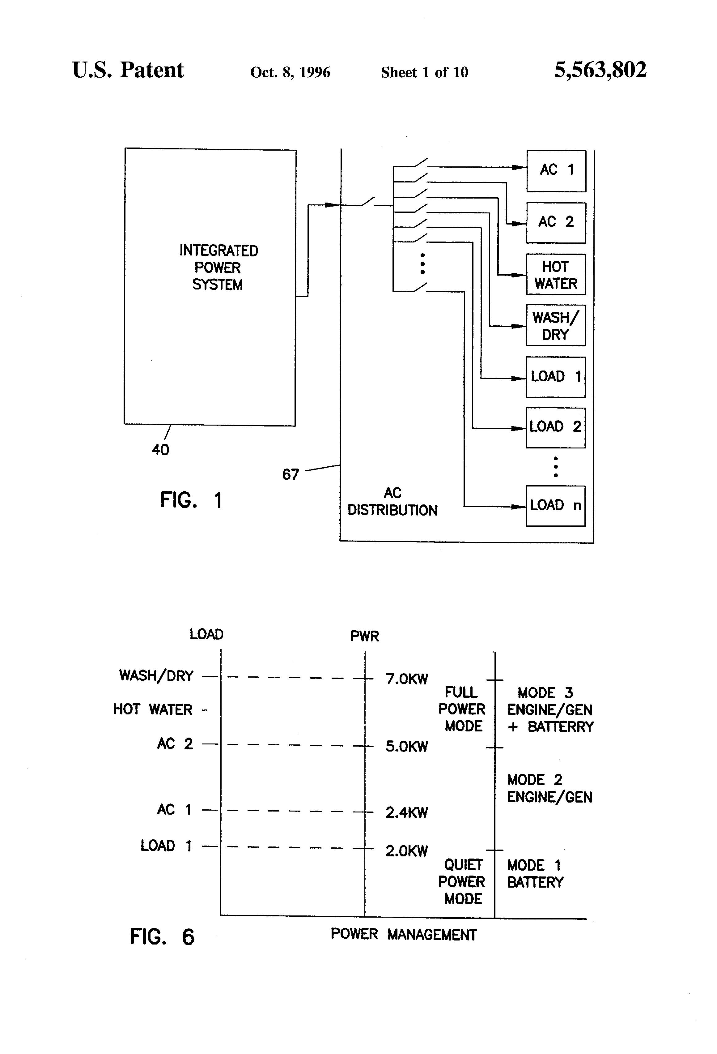 براءة الاختراع US5563802 Generator Power System And Method US5563802 1 US5563802 Westerbeke Generator Wiring Diagram Stove Westerbeke Generator ...