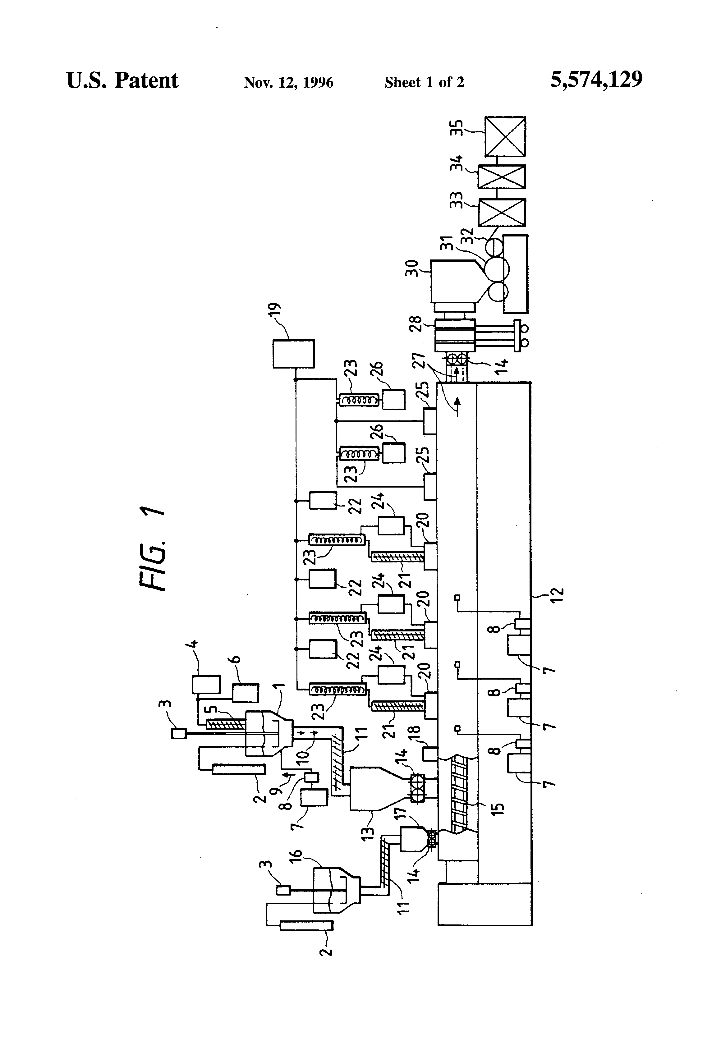 Patent Us5574129 Process For Producing Lactic Acid Polymers And A Hyundai Engine Diagram Intake Area Drawing