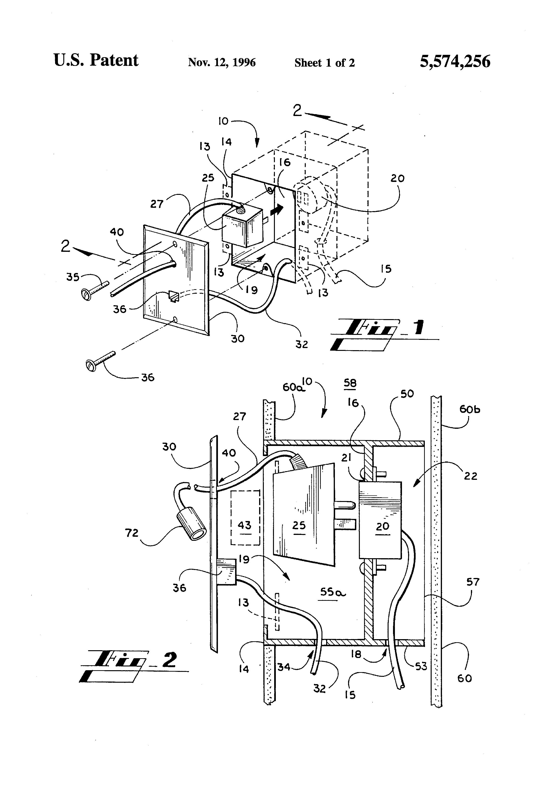 patent us5574256