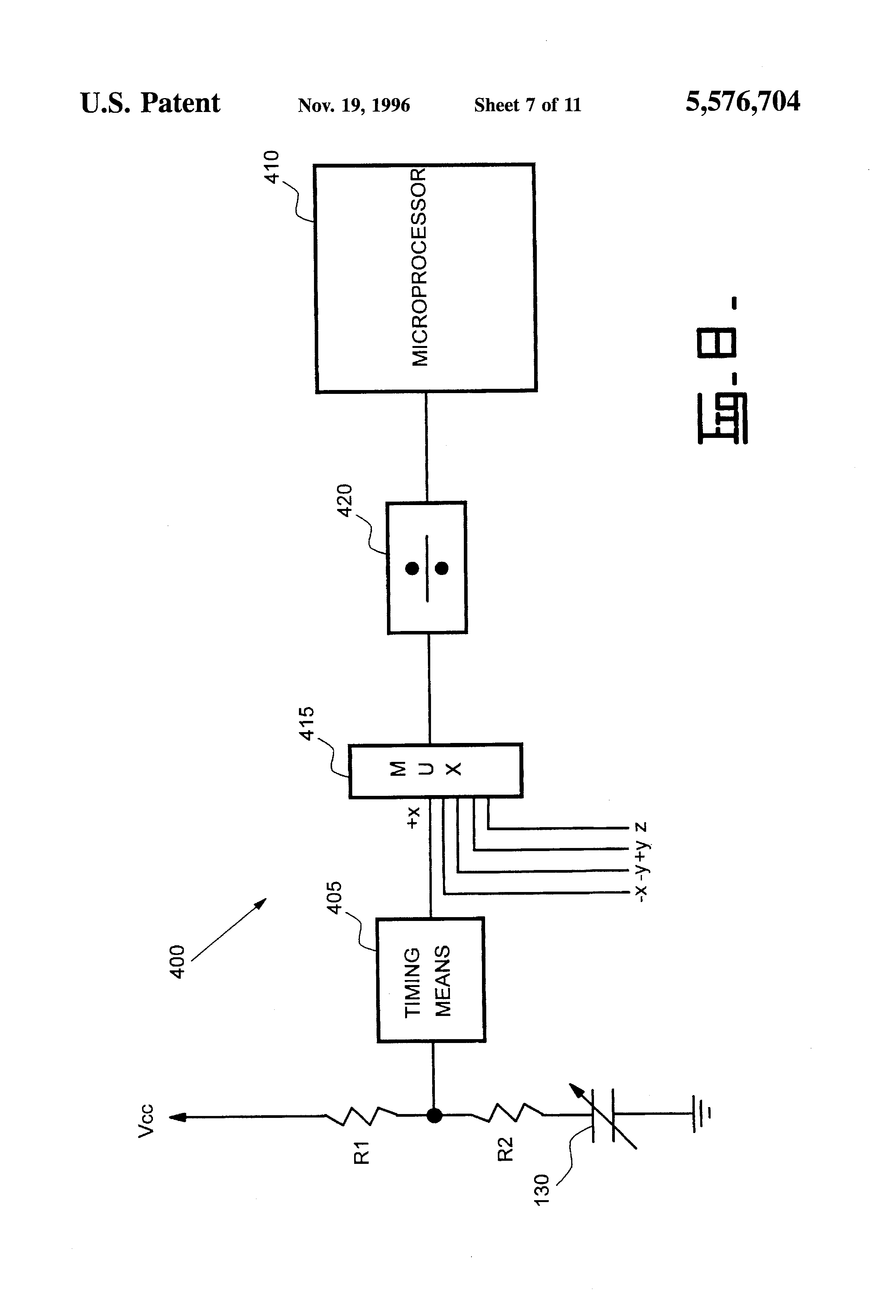 US5576704 7 patent us5576704 capacitive joystick apparatus google patents sauer danfoss joystick wiring diagram at cos-gaming.co