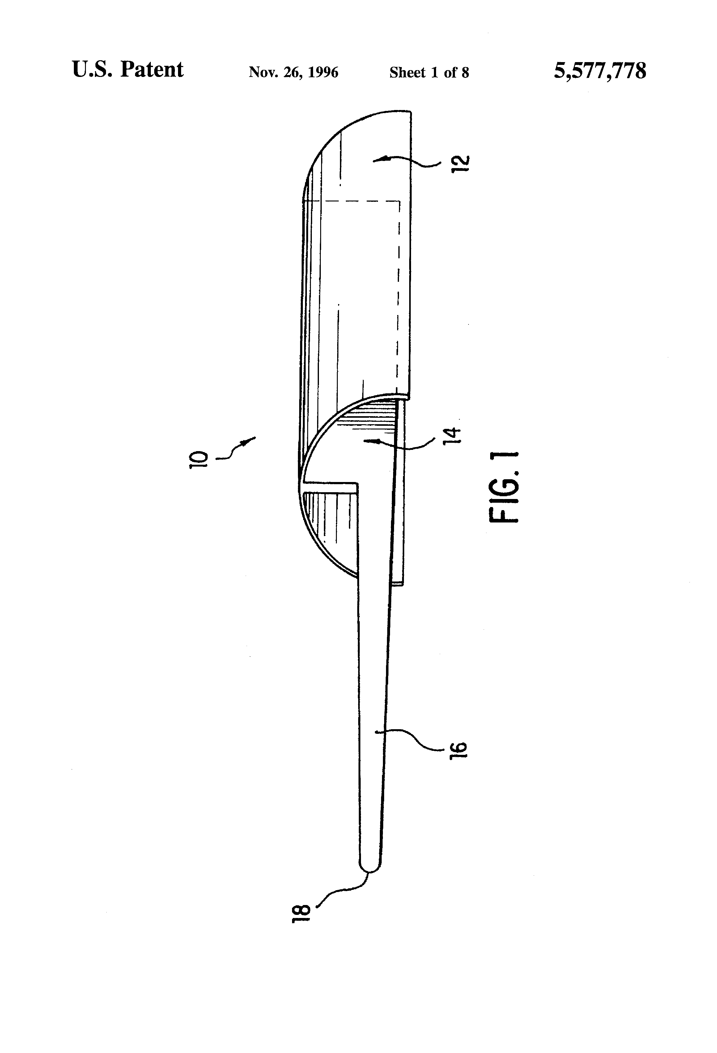 Patent Us5577778 Neck Tie Tying Tool Google Patents A Diagram Drawing