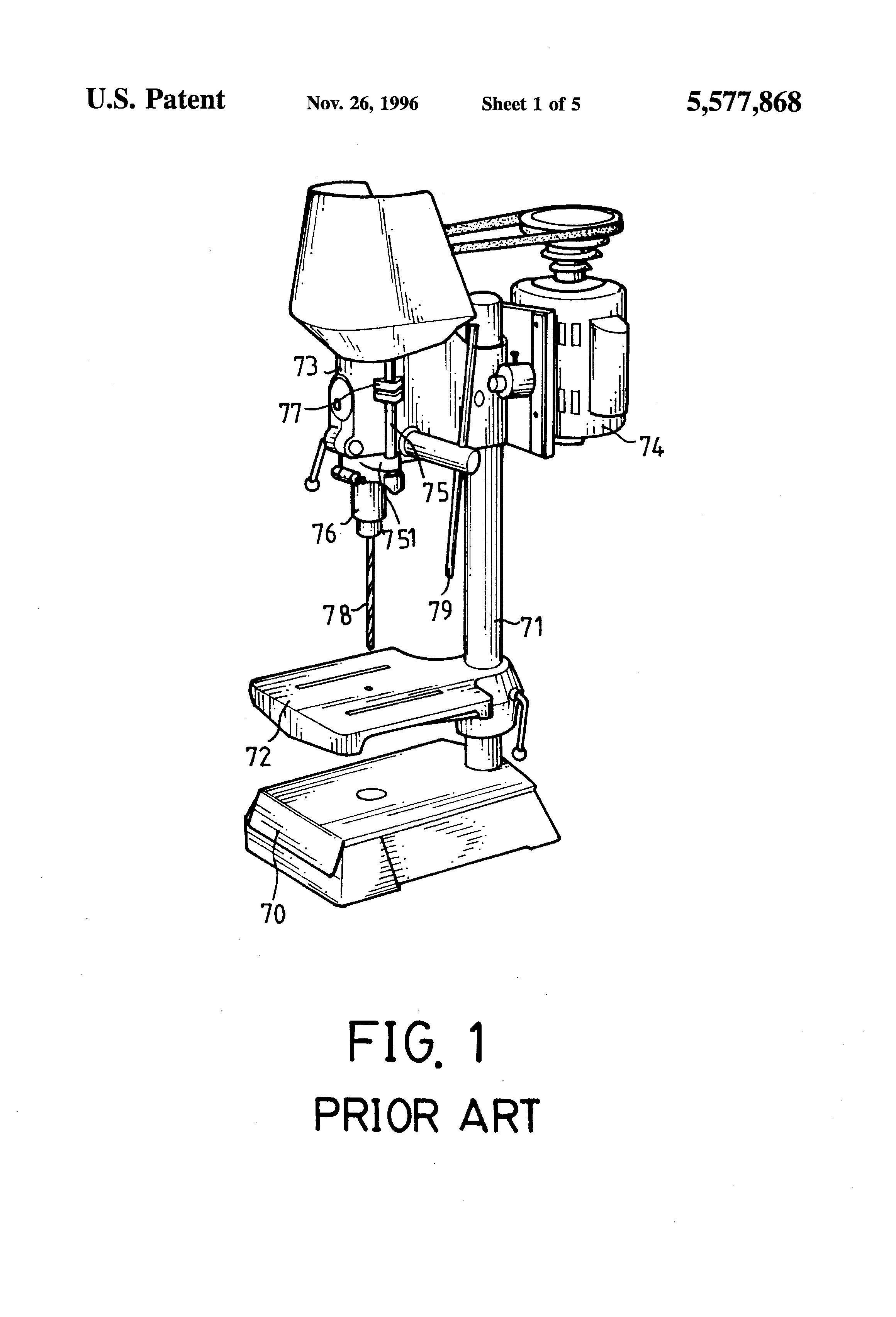 Jones Chopper Circuit Diagram | Patent Us5577868 Depth Stop For A Drill Press Google Patents