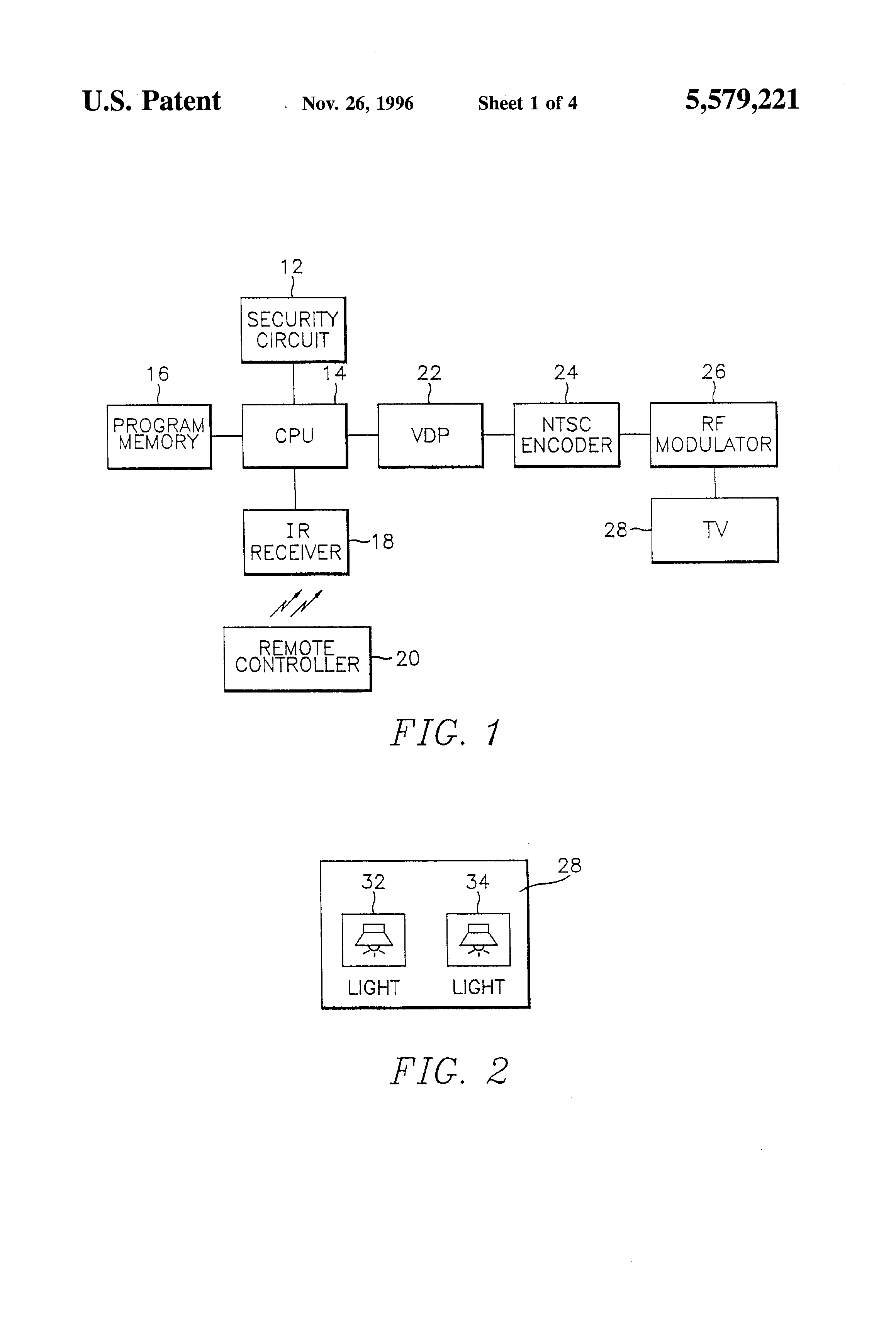 Patent us5579221 home automation system having user for Define home automation