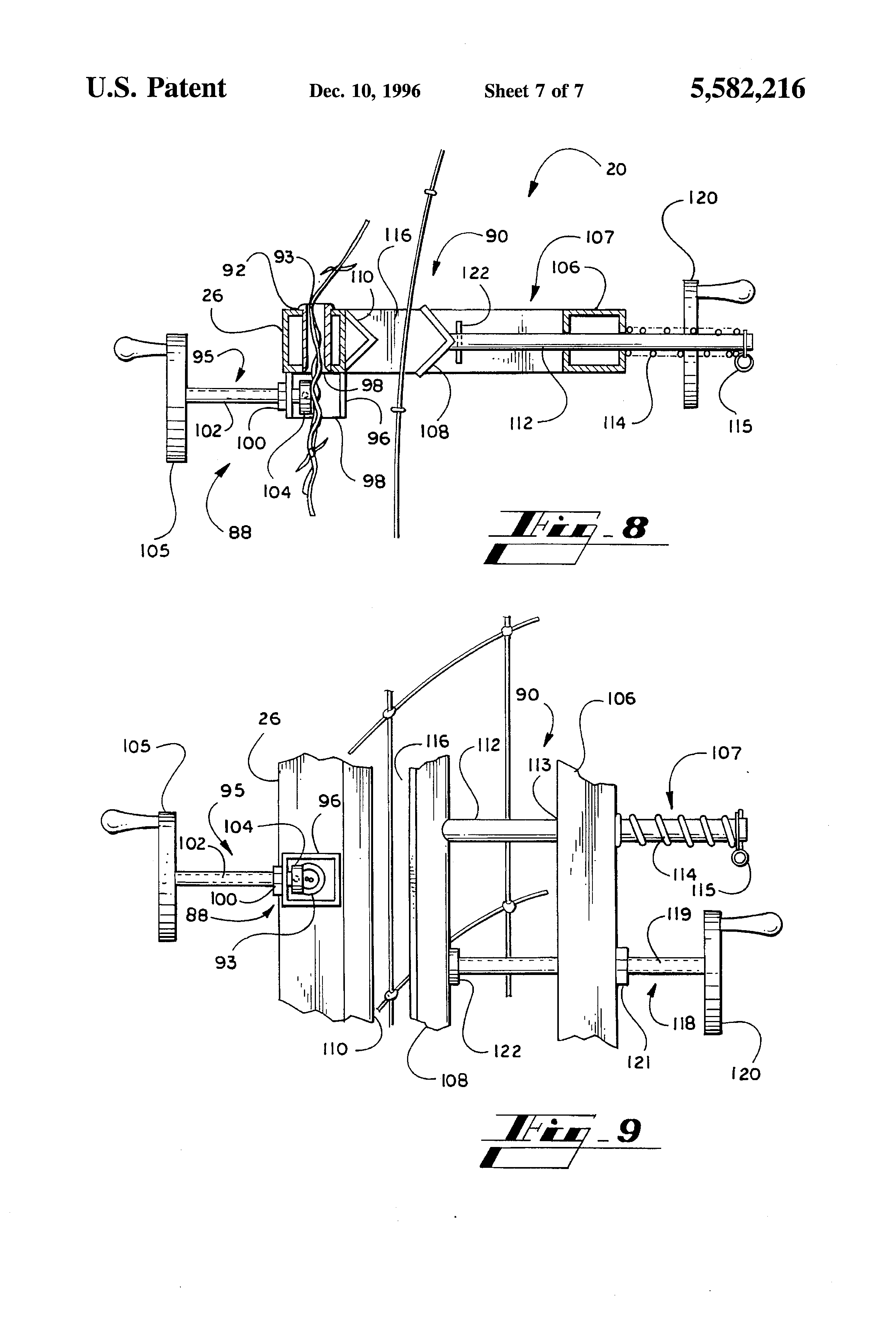 Apparatus And Method For Installing Cable : Patente us apparatus and method for installing