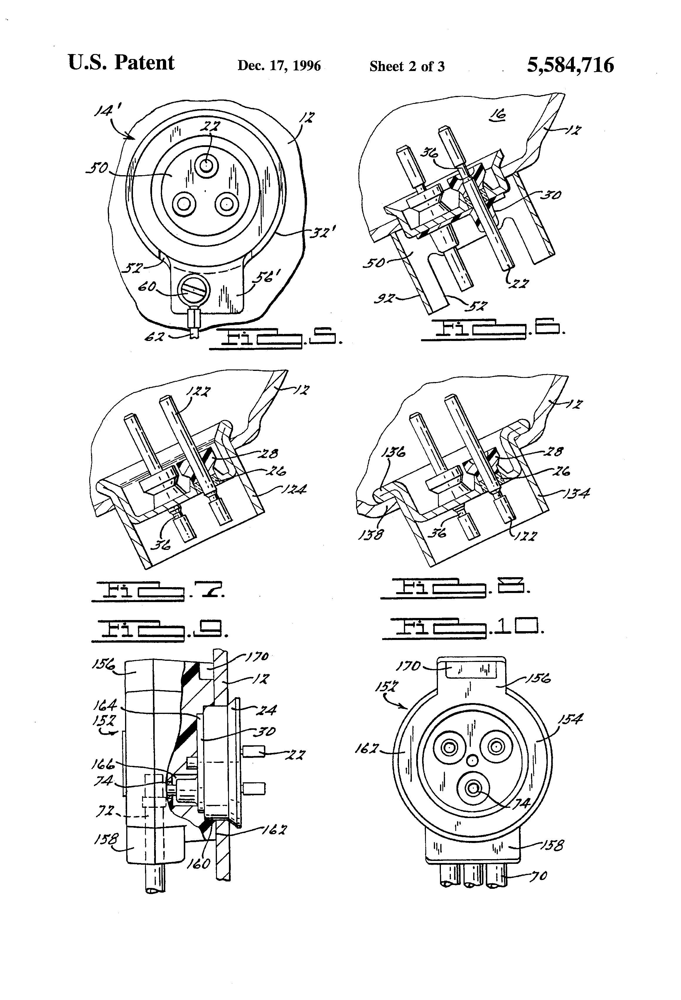 patent us5584716
