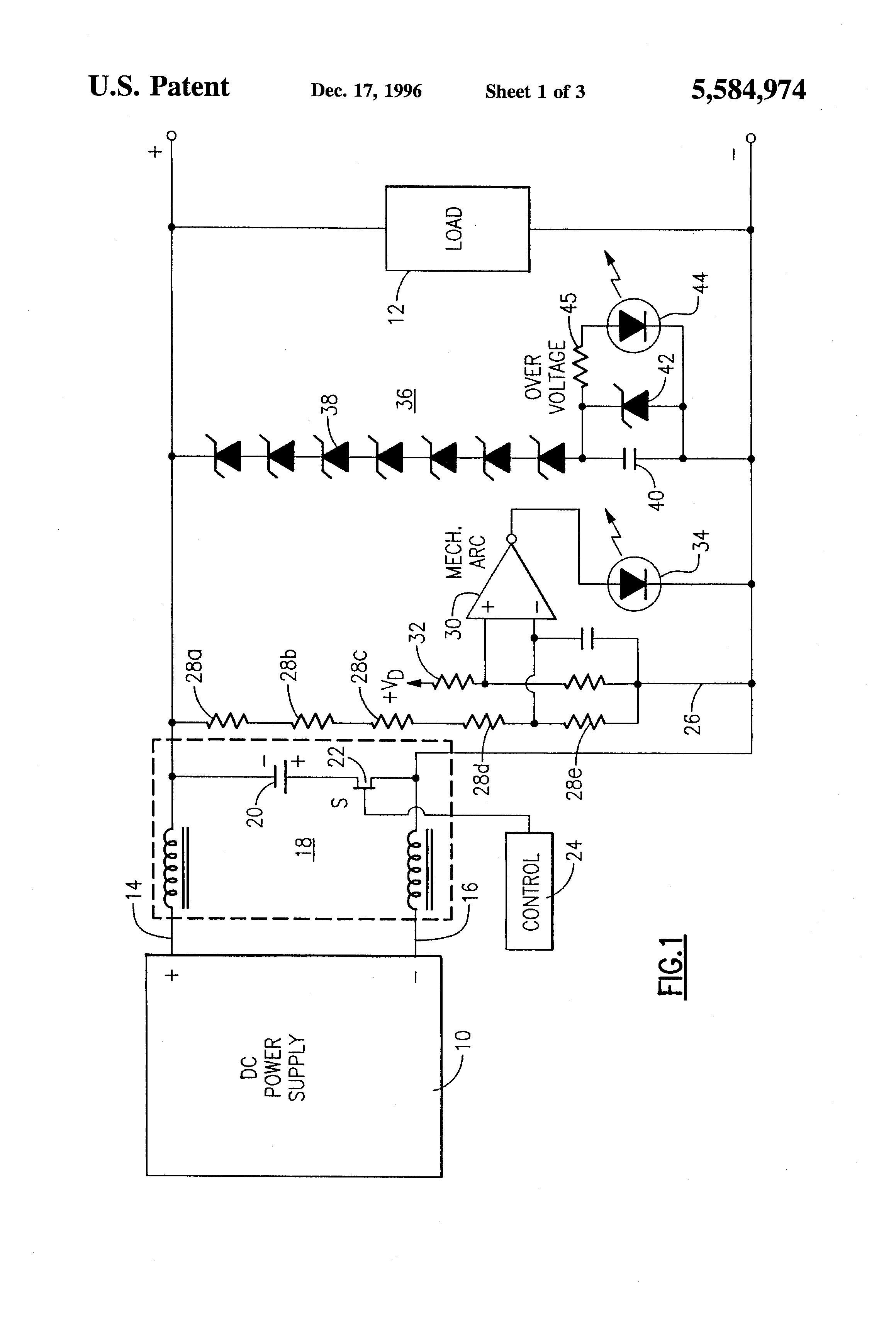 patent us5584974