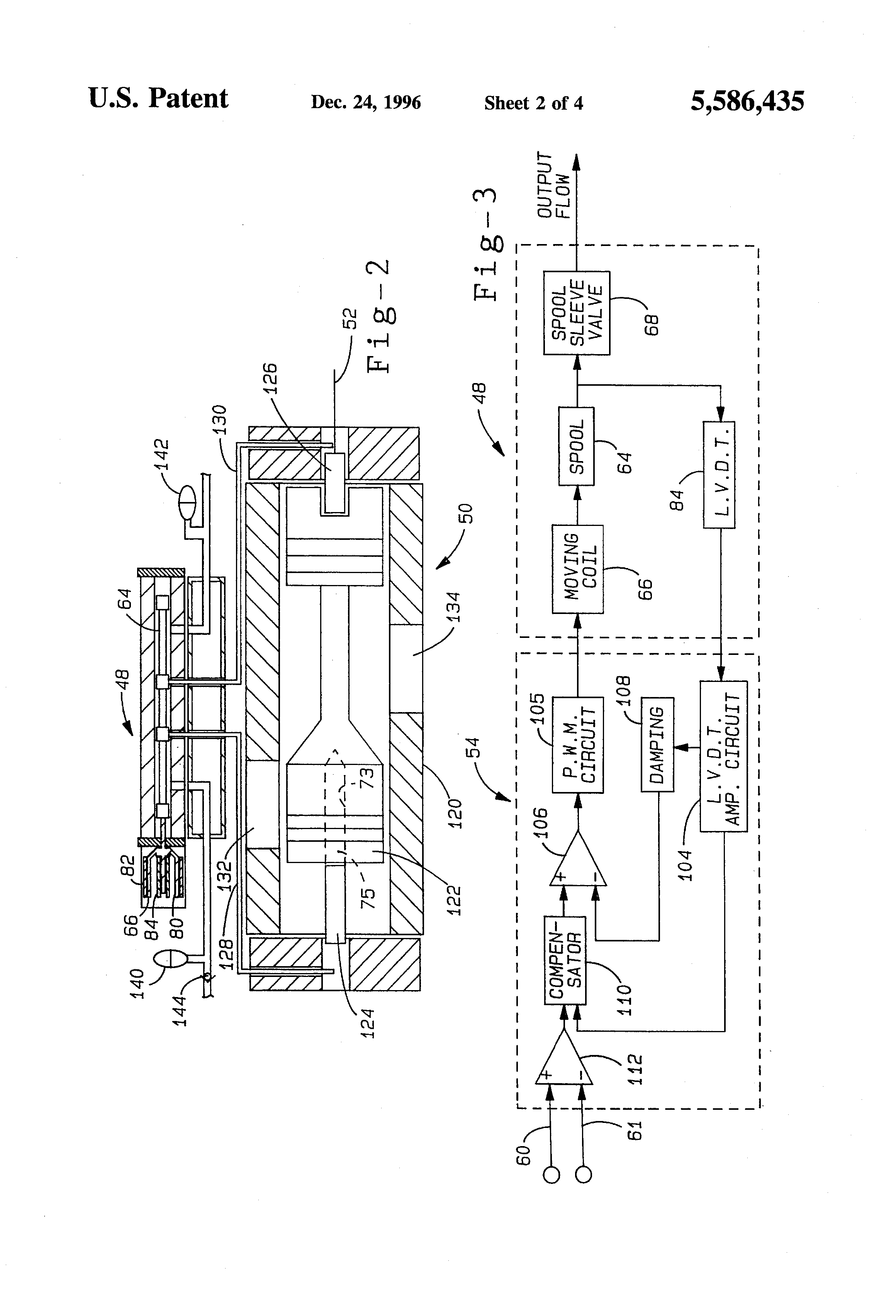 Closed Loop Hydrostatic Systems Part 2 Hydpowsysfigure1 Hydraulic Power And Controls Patent Us5586435 System