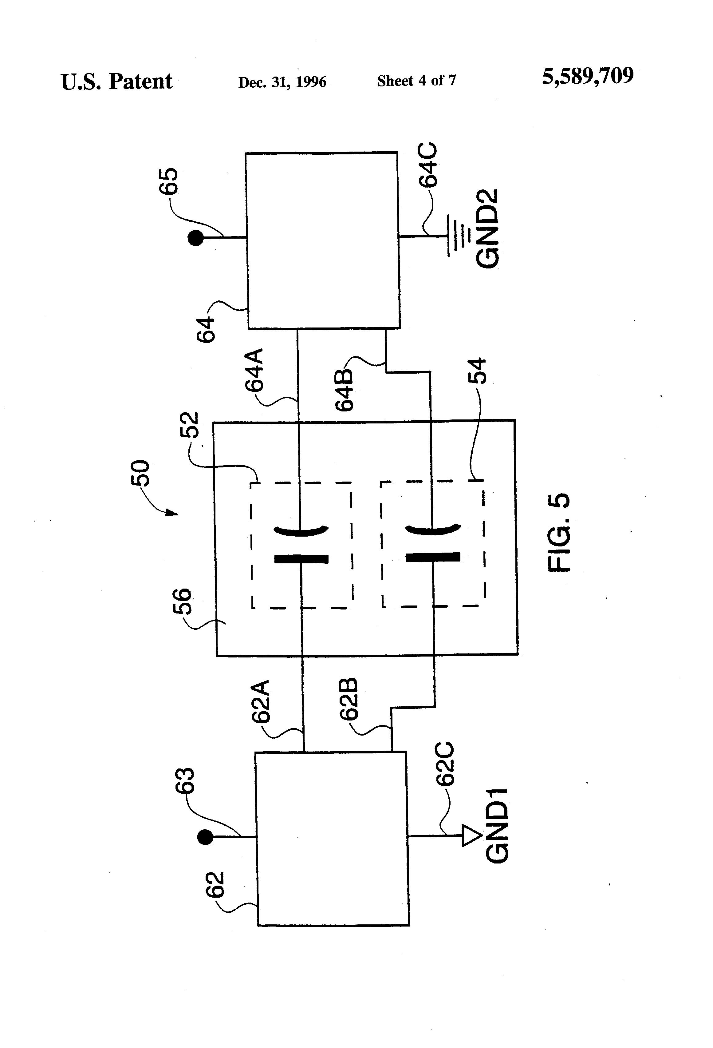 patent us5589709