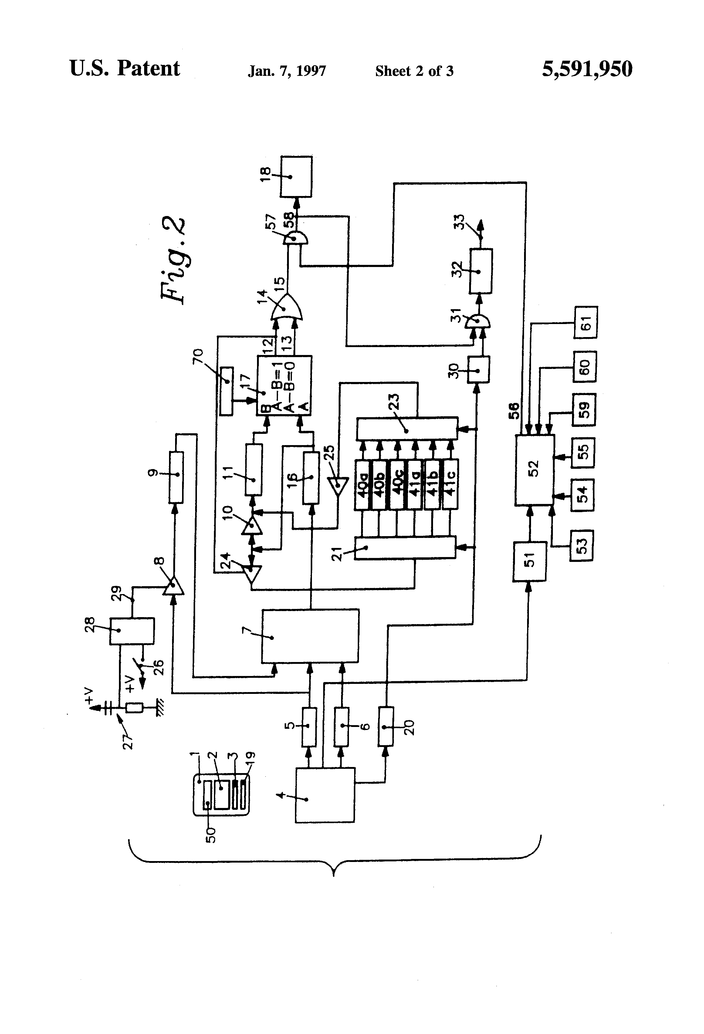 patent us5591950 - programmable electronic lock
