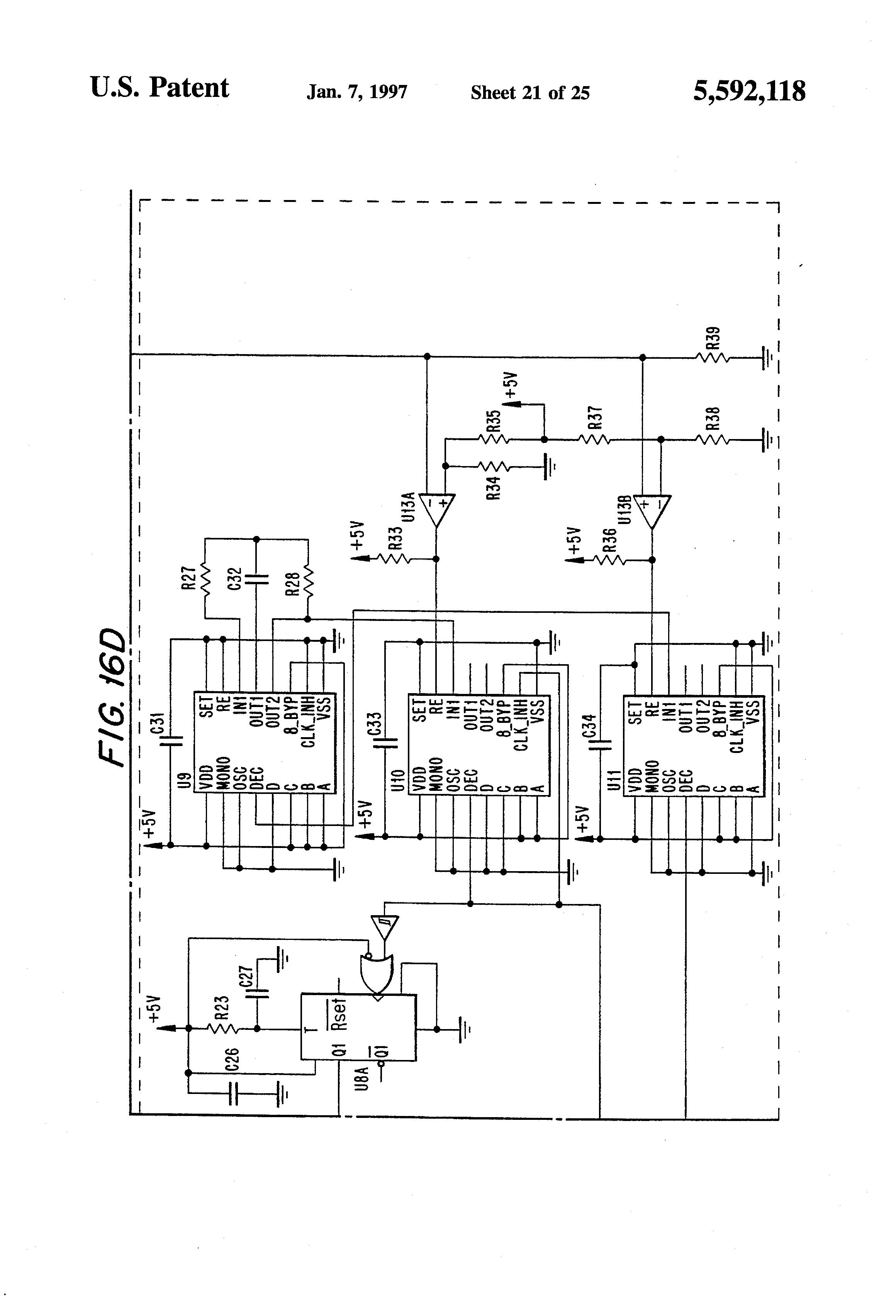 diagram patent us5592118 ignition exciter