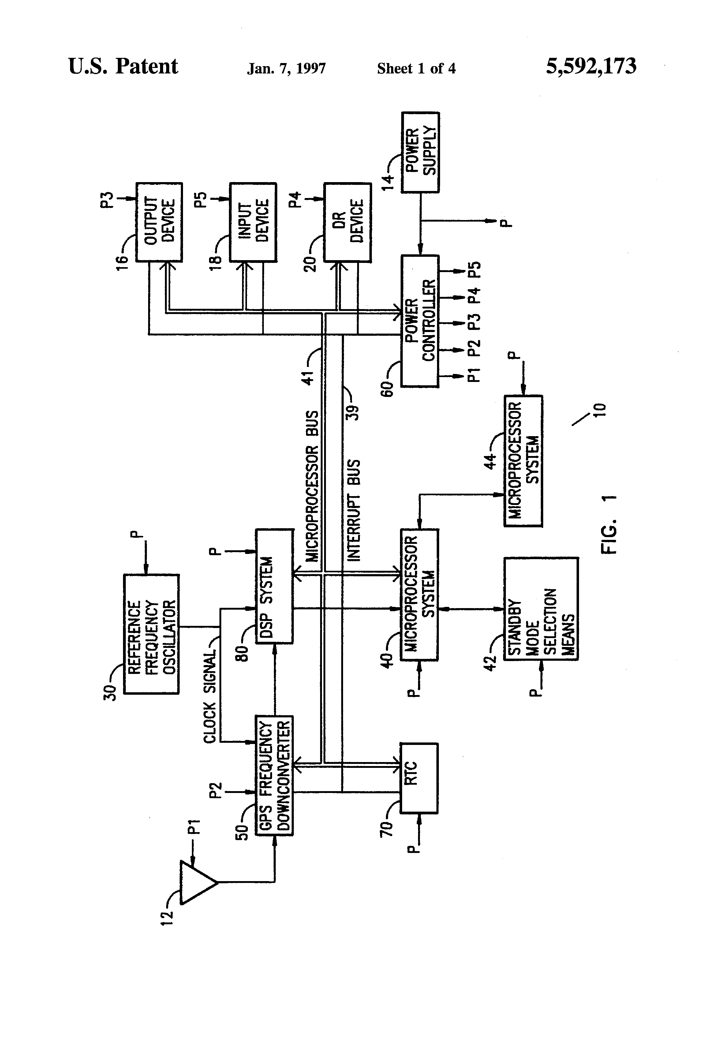 US5592173 1 patent us5592173 gps receiver having a low power standby mode trimble 750 ez steer wiring diagram at soozxer.org