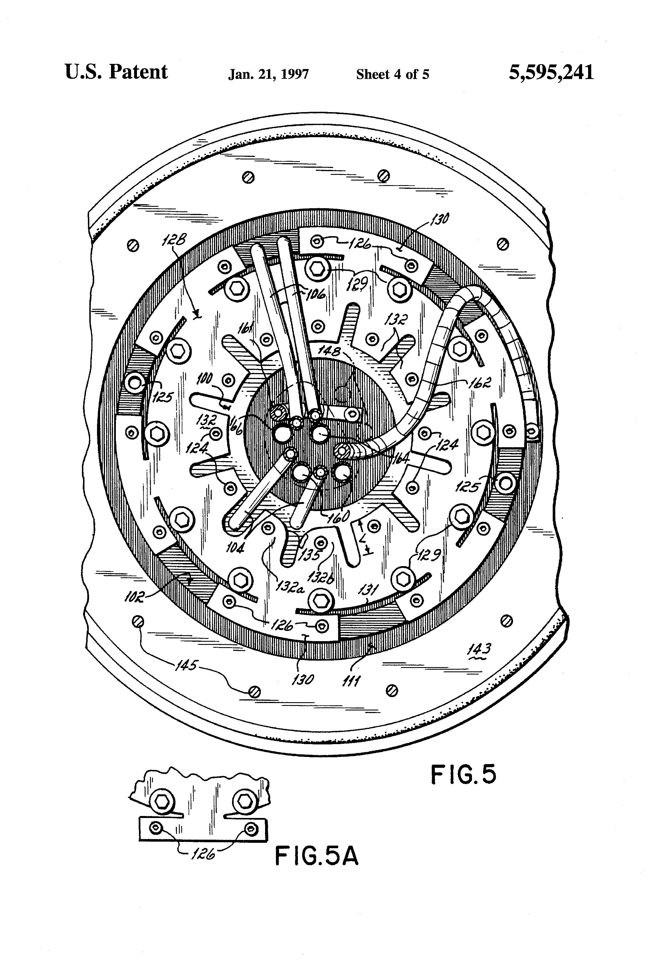 patent us5595241