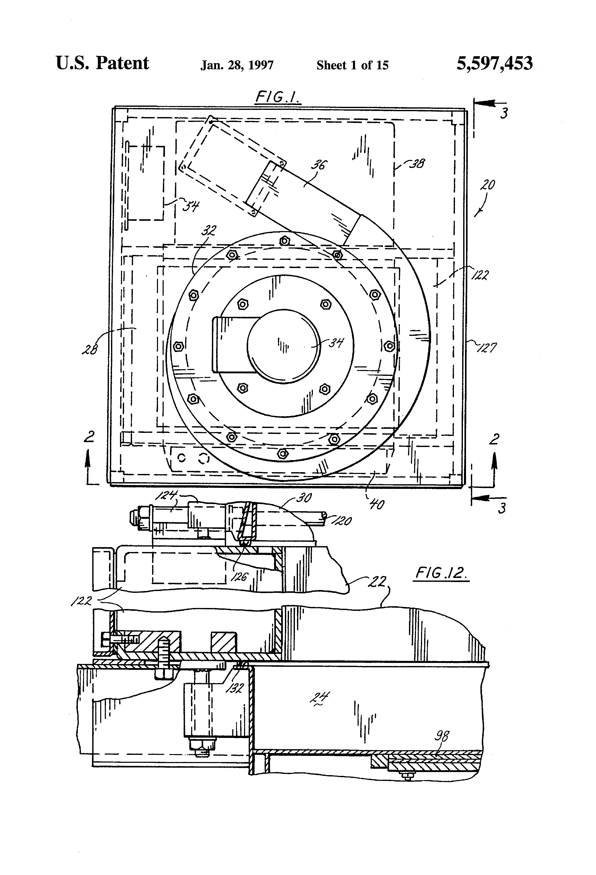 patent us5597453 - apparatus and method for vapor compression distillation device
