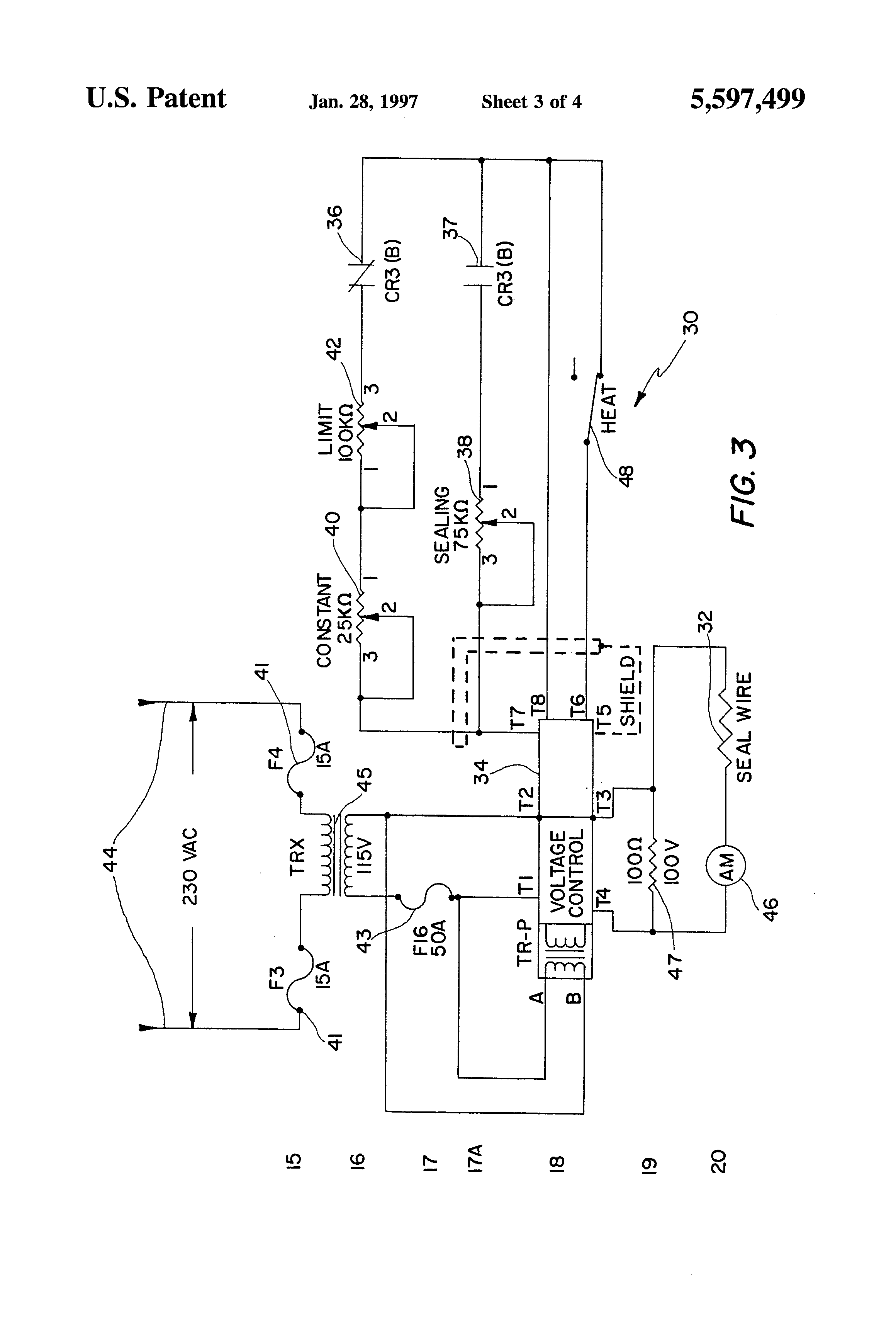 US5597499 3 patent us5597499 seal wire control for packaging machinery heat seal wiring diagram at bakdesigns.co