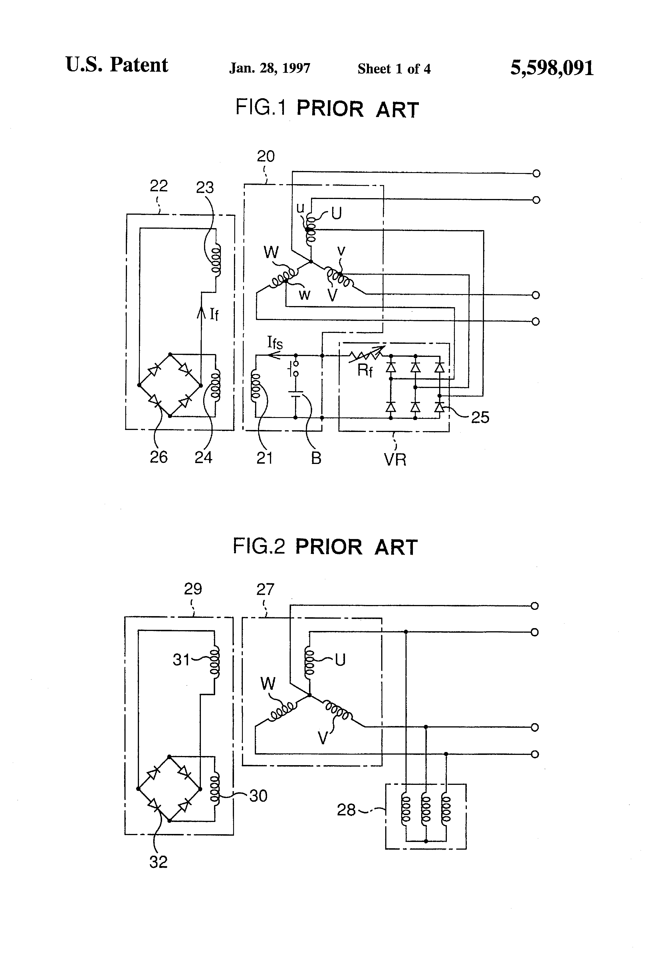 US5598091 1 patent us5598091 three phase brushless self excited synchronous generator exciter diagram at n-0.co