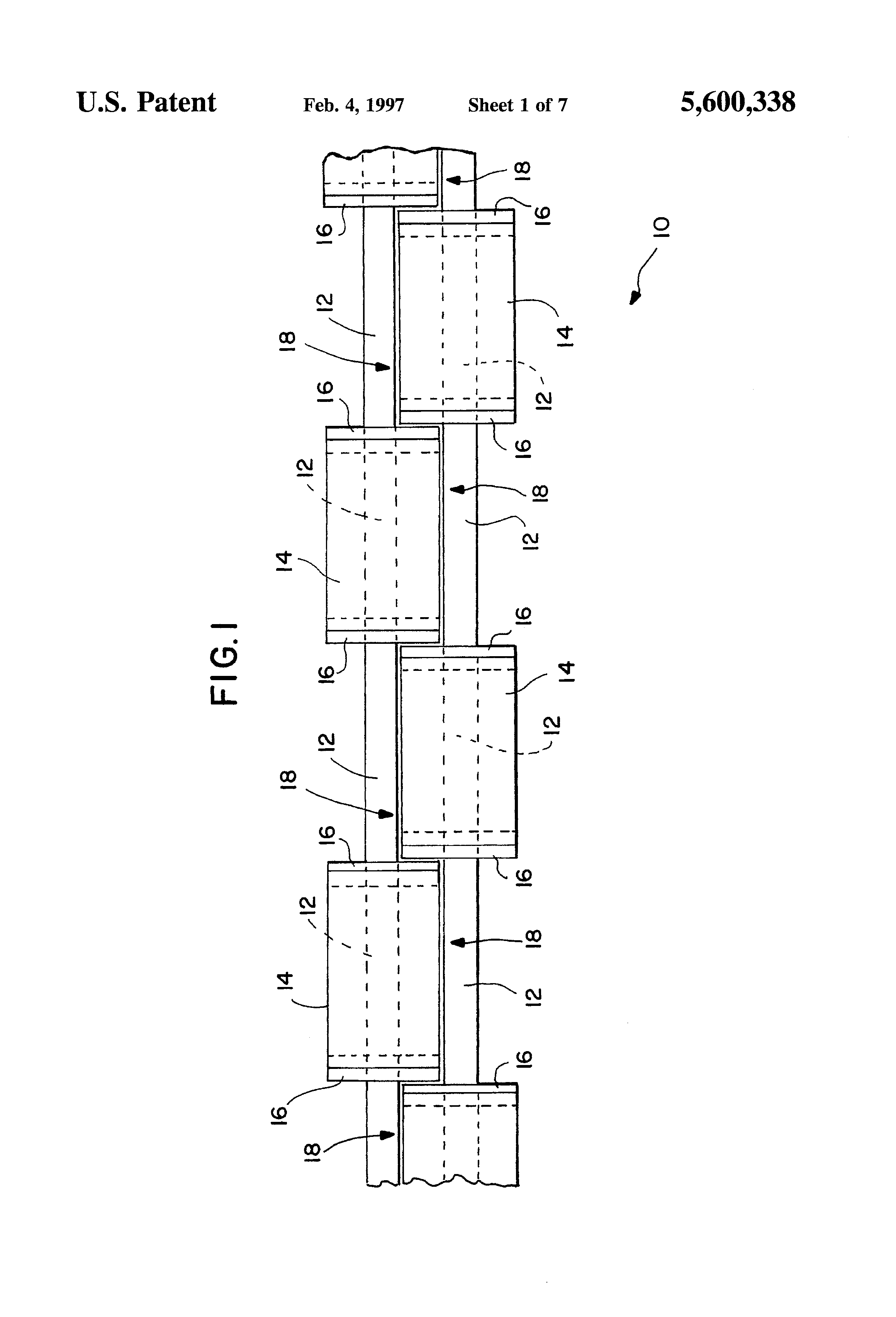 patent us5600338 - coaxial-collinear antenna