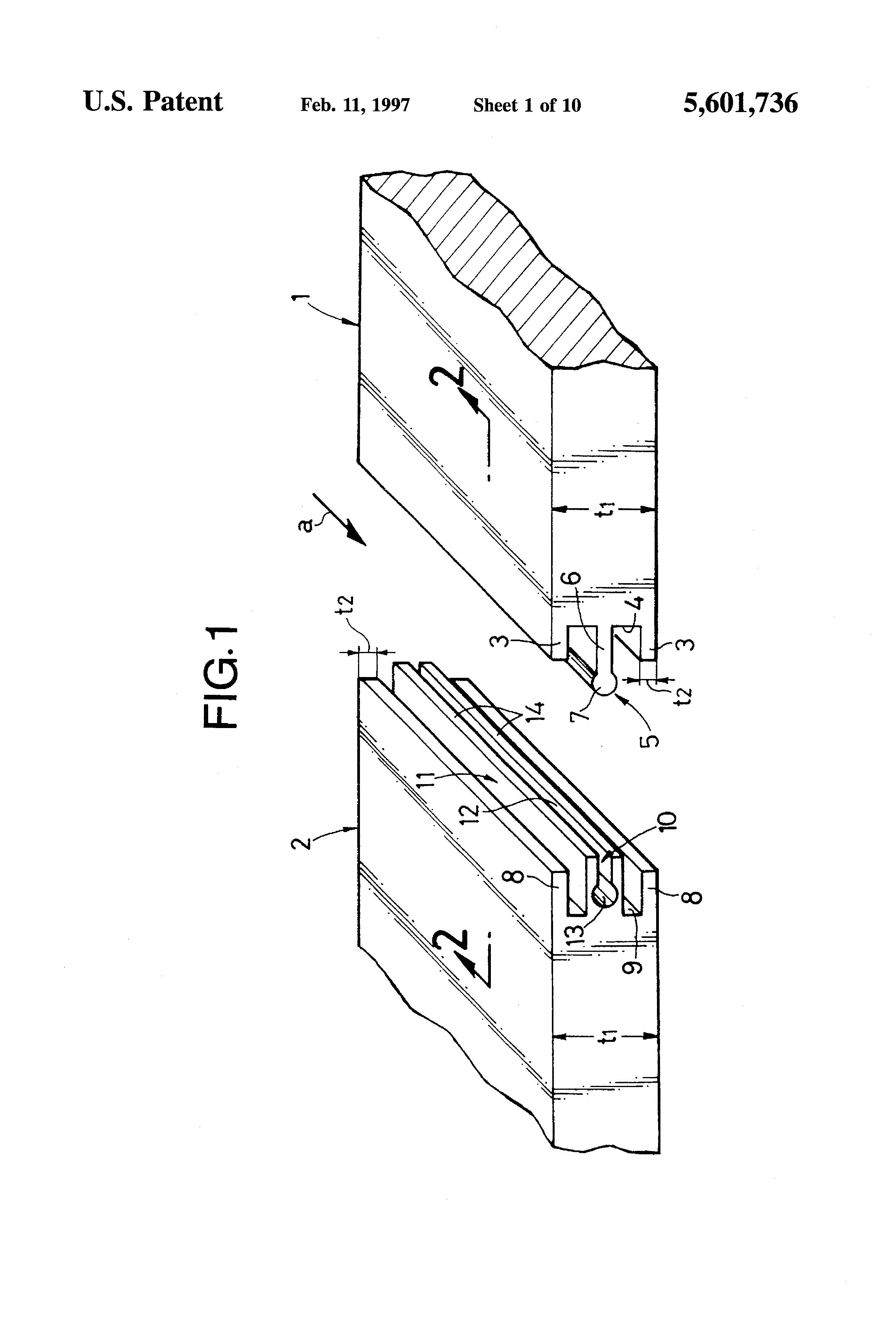 patent us5601736